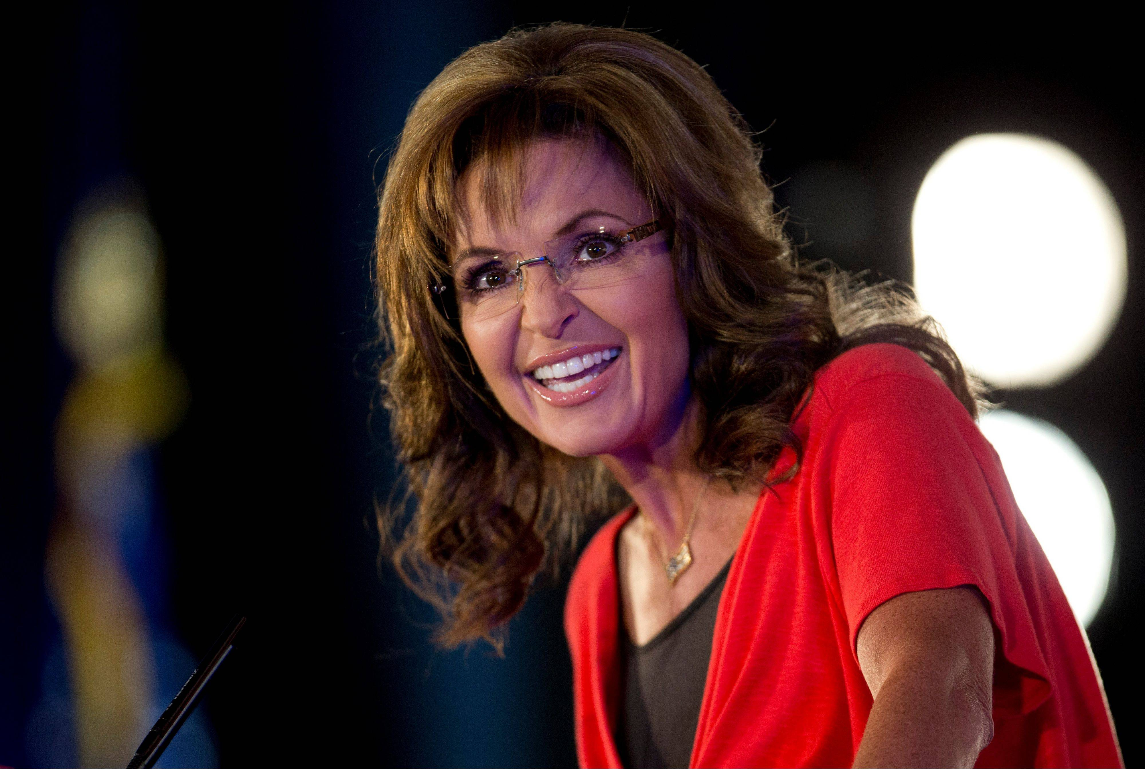 Sarah Palin speaks during the Faith and Freedom Coalition Road to Majority 2013 conference in Washington.