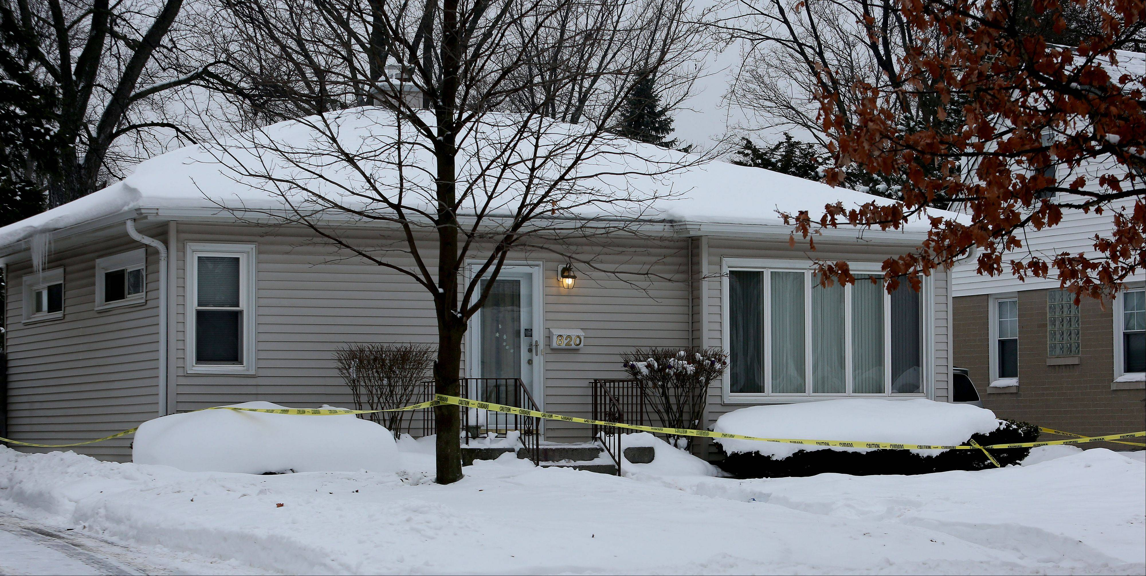 Lombard police are probing the death of a man they found Thursday inside a house on Hammerschmidt Avenue.