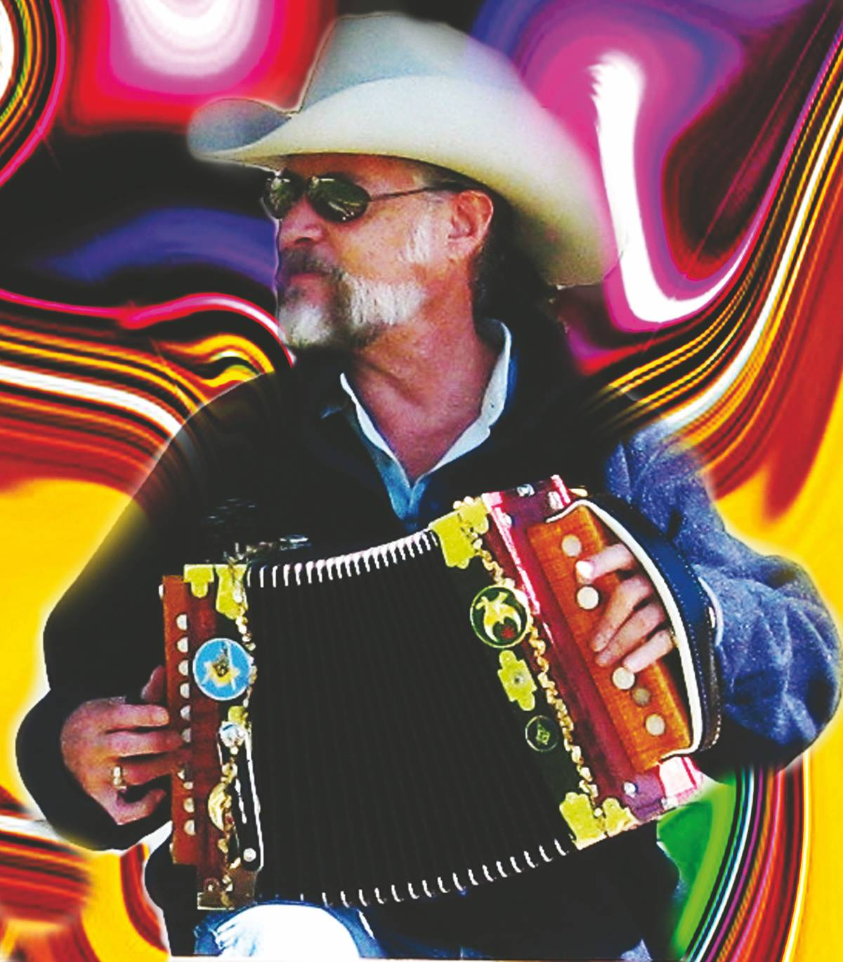 Mr. Mojo, leader of Mojo and the Bayou Gypsies, will perform at CLC on Jan. 23.