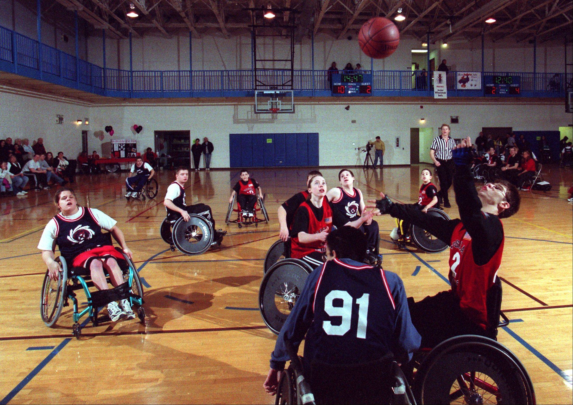 Fifteen teams from across the Midwest will compete Jan. 18 in a wheelchair basketball tournament hosted by the Junior Bulls at Addison Trail High School.