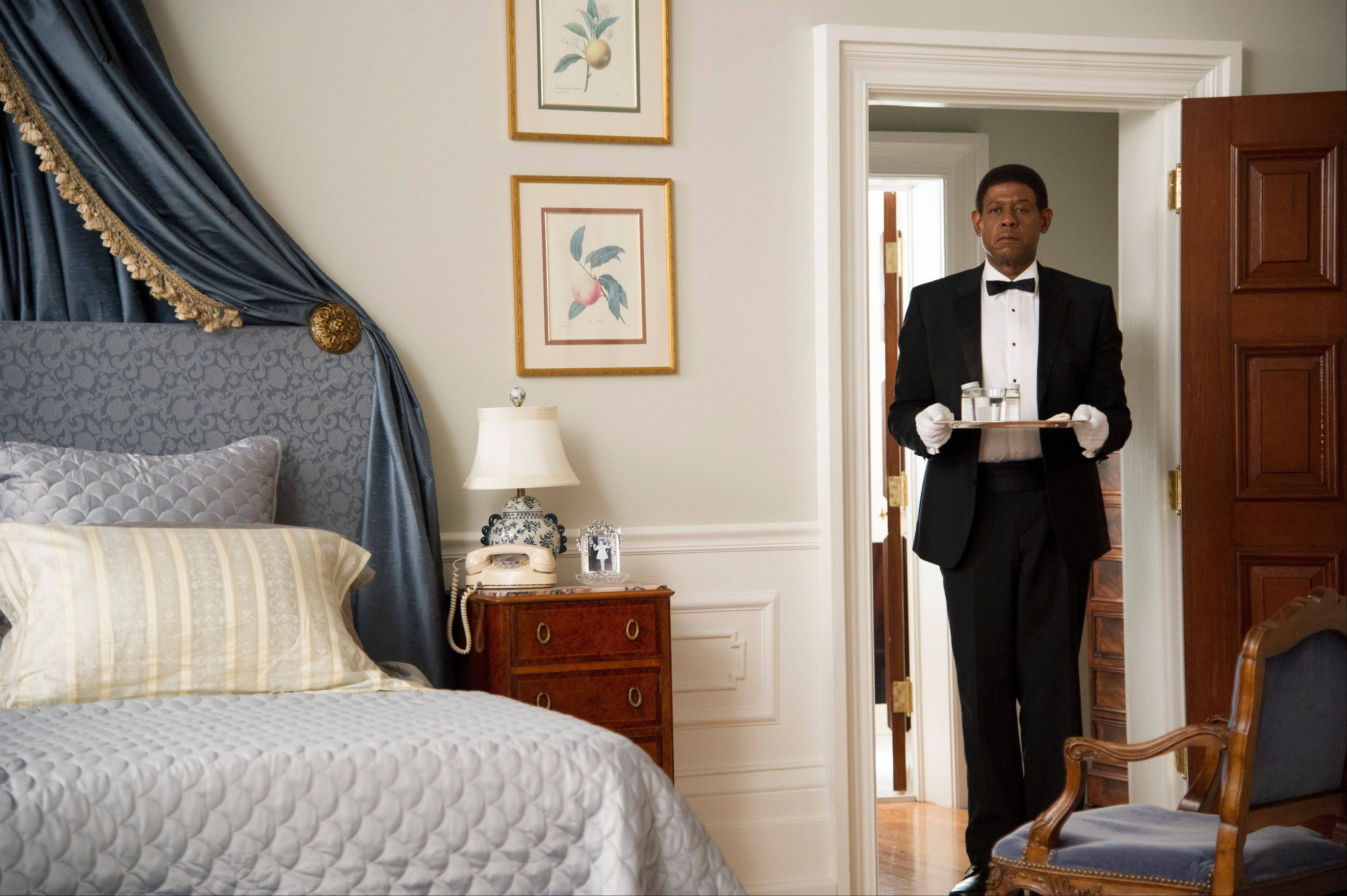 "Cecil Gaines (Forest Whitaker) serves a succession of presidents in ""Lee Daniels' The Butler,"" now on DVD."