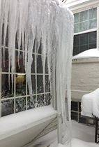 My sister's icicles.