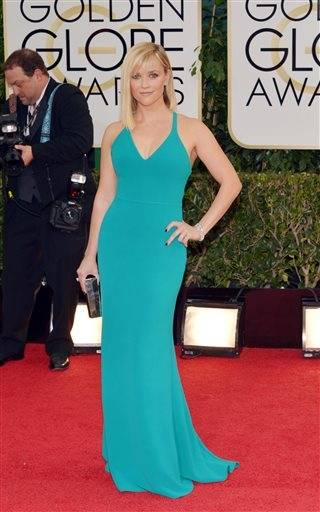 Oscar winner Reese Witherspoon keeps it simple and stands out on the red carpet.