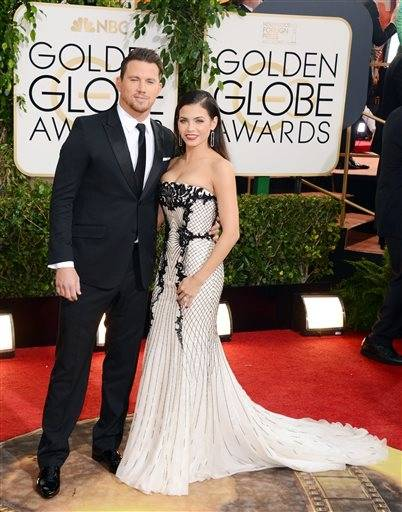 New parents actors Channing Tatum and his wife, Jenna Dewan, certainly make a striking couple on the red carpet.