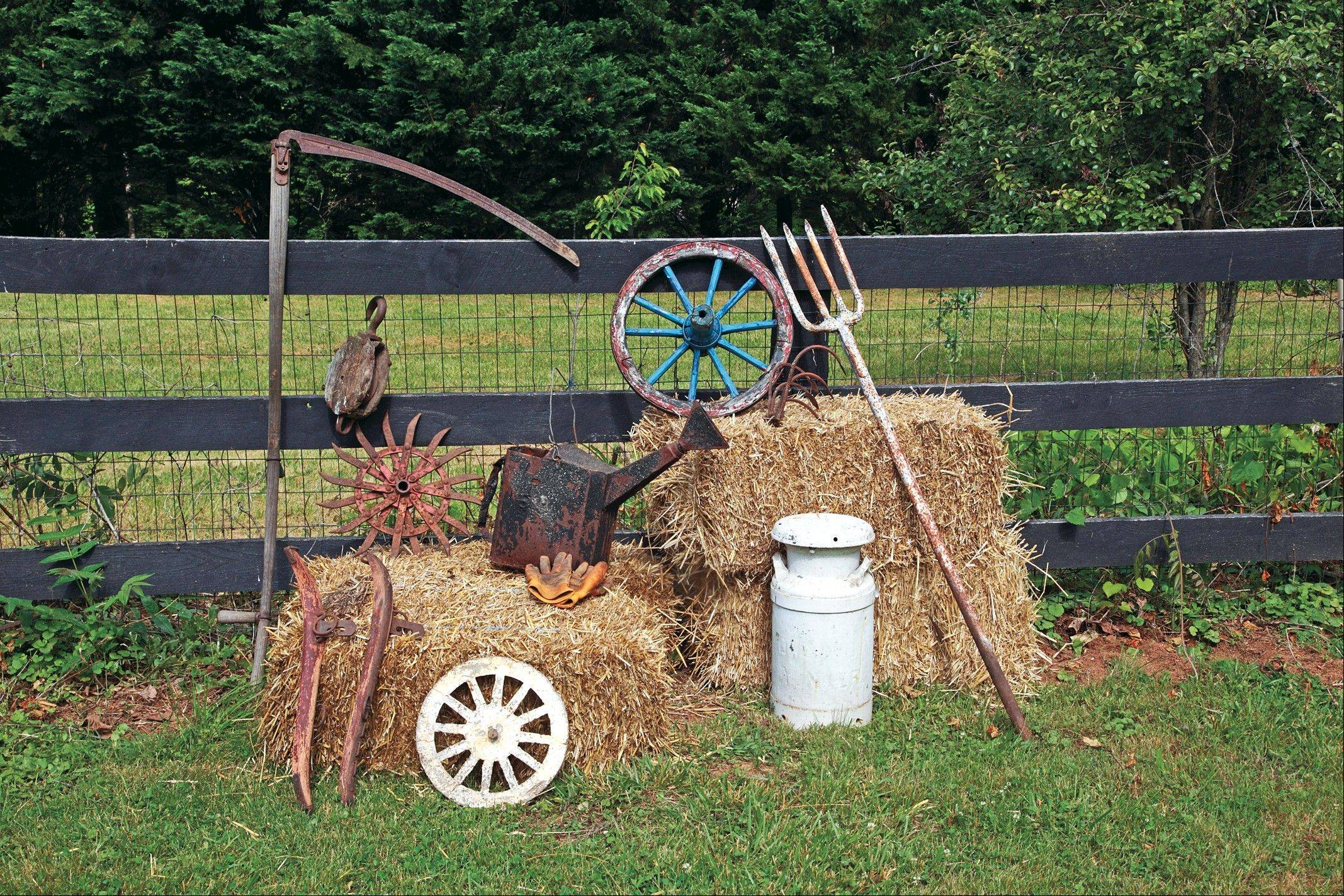 Collectors of country items have always had a fondness for vintage and antique farm tools.