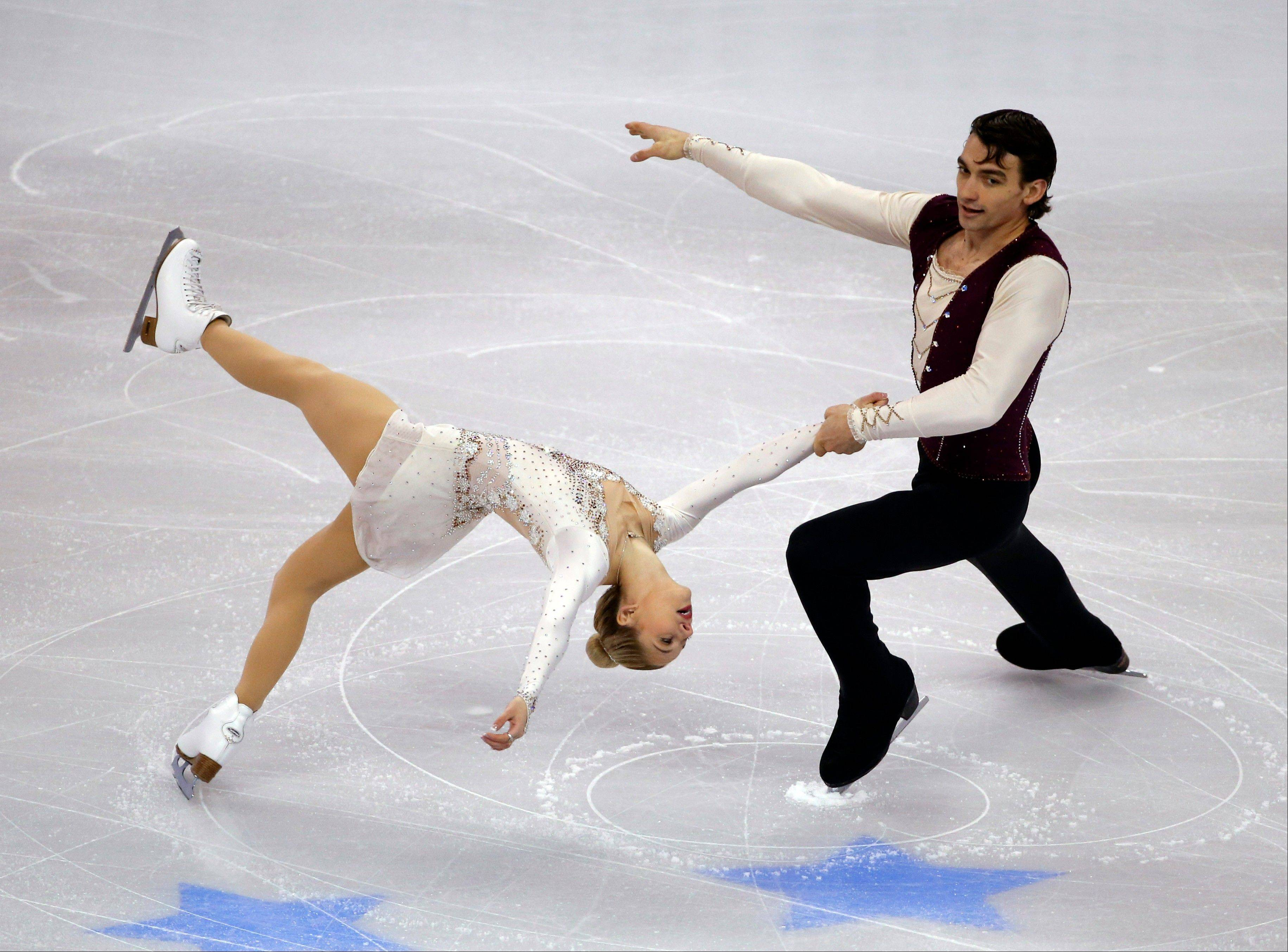 Alexa Scimeca of Addison and Chris Knierim finished fourth overall in the pairs competition at the U.S. Figure Skating Championships in Boston.