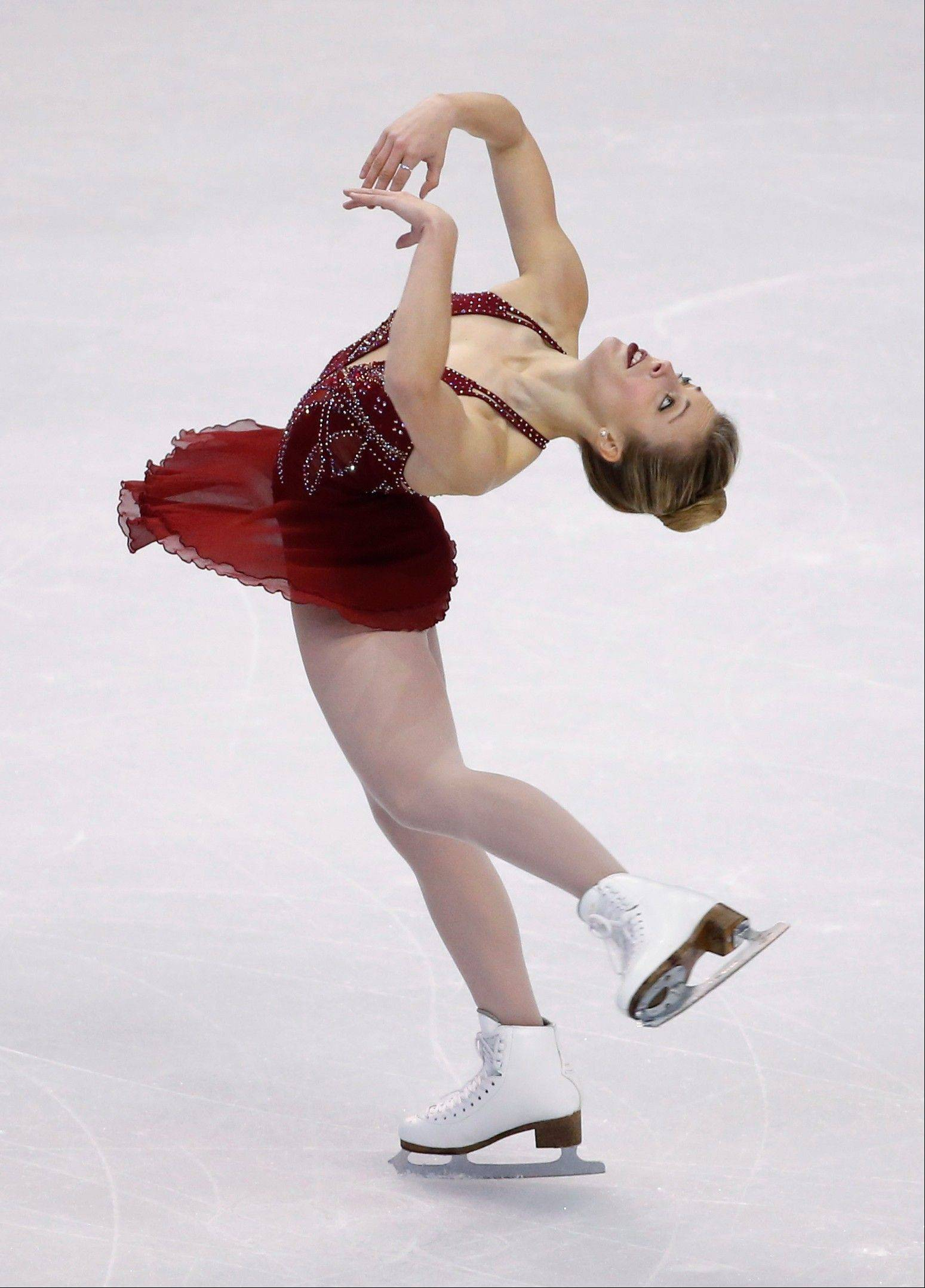 Ashley Wagner, who was favored entering the U.S. Figure Skating Championships in Boston, finished fourth overall after Saturday's free skate and is in danger of not making the U.S. Olympic team.