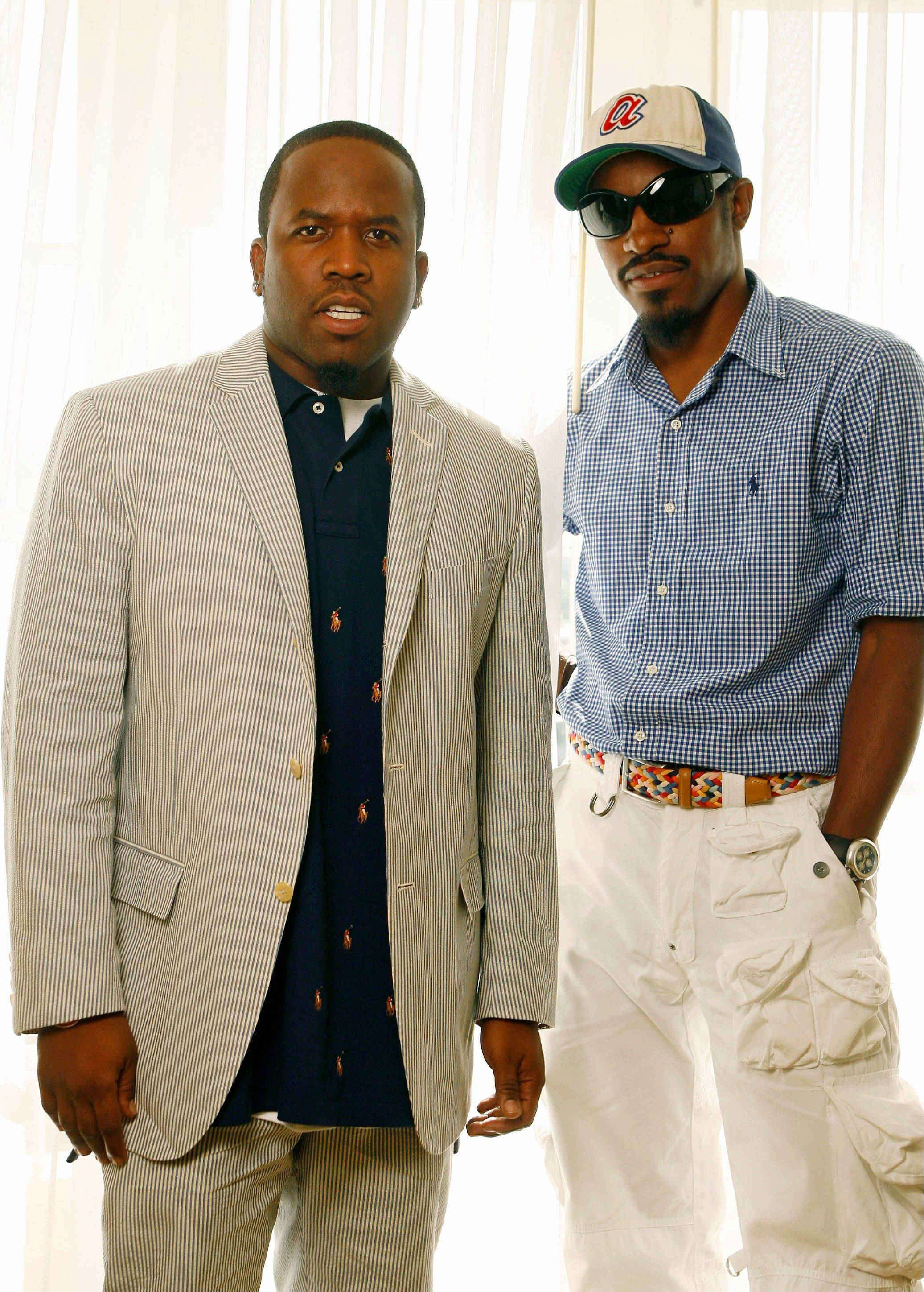 OutKast � Andre Benjamin, right, and Big Boi � is extending their comeback to more than 40 festival dates in 2014.