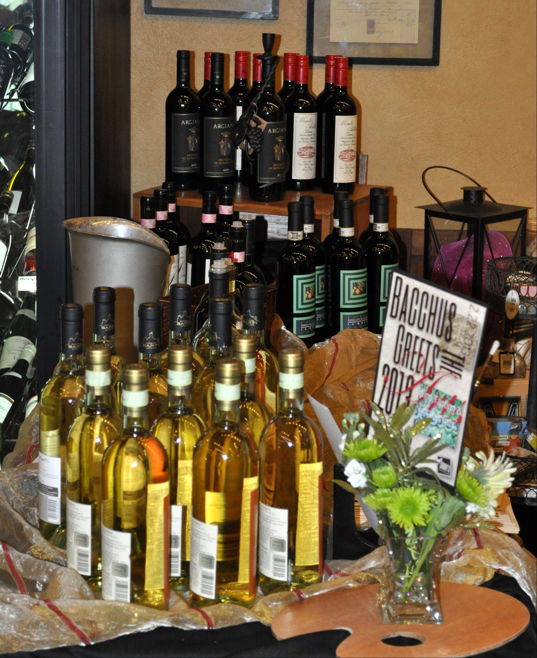 Gibby�s Wine Den in Geneva is seeking submissions for its upcoming Bacchus Greets the Arts event. Artists who would like to display and sell their artwork can contact Gibby�s to participate in the March 14 event, which is in its eighth year.