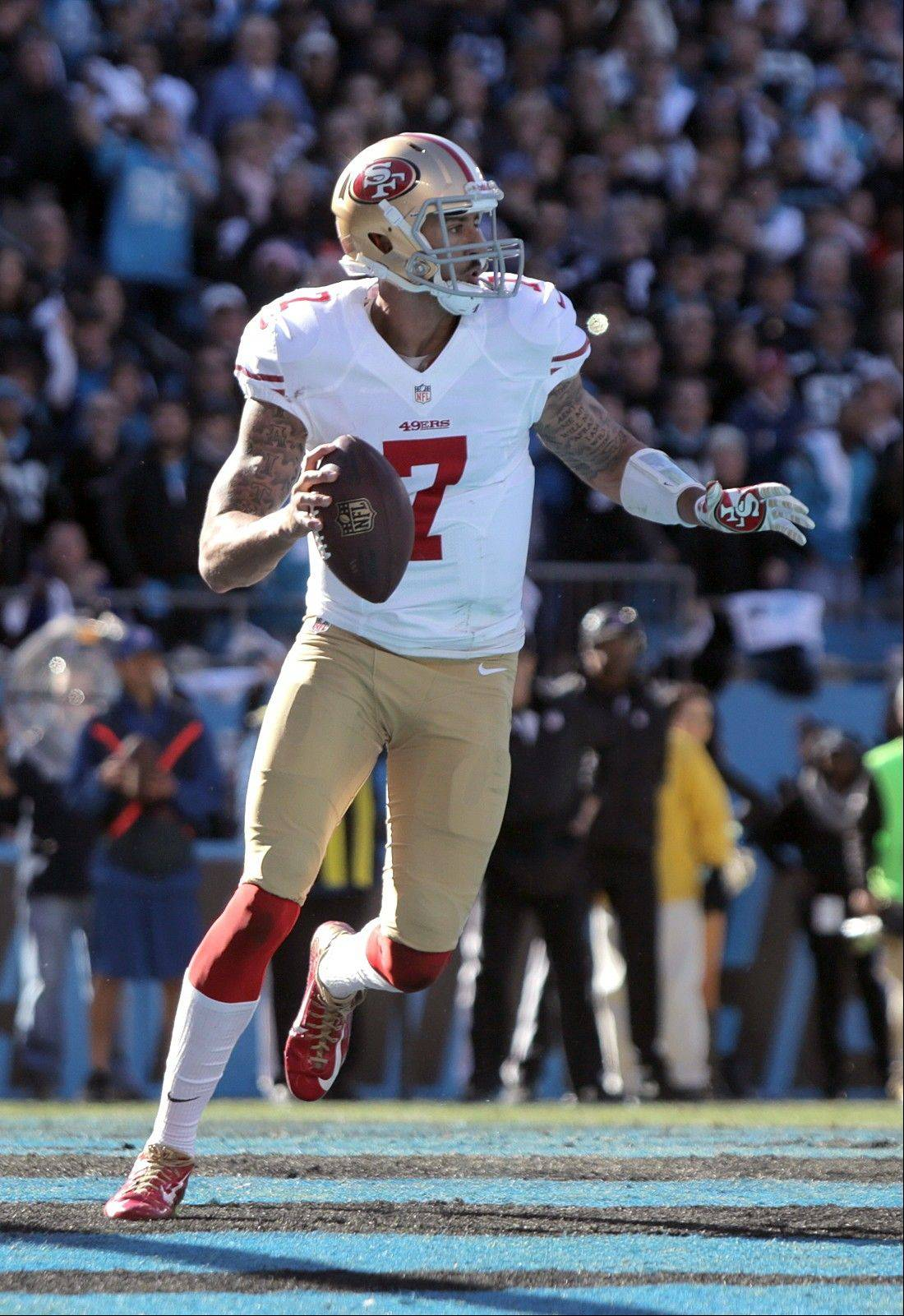 Although he beat the Seahawks in San Francisco, the 49ers quarterback Colin Kaepernick have struggled on their last two road trips to Seattle,committing seven turnovers en route to being outscored 71-16 in those games.