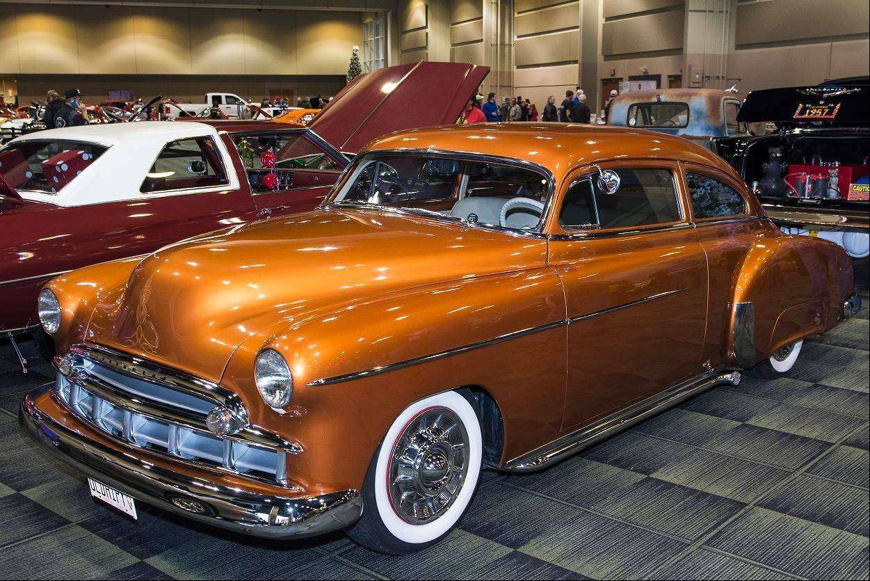 This 1950 Chevrolet Fleetline was brought home to Illinois by Jack Leonard of Tinley Park, a mechanic who previously worked on the automobile.