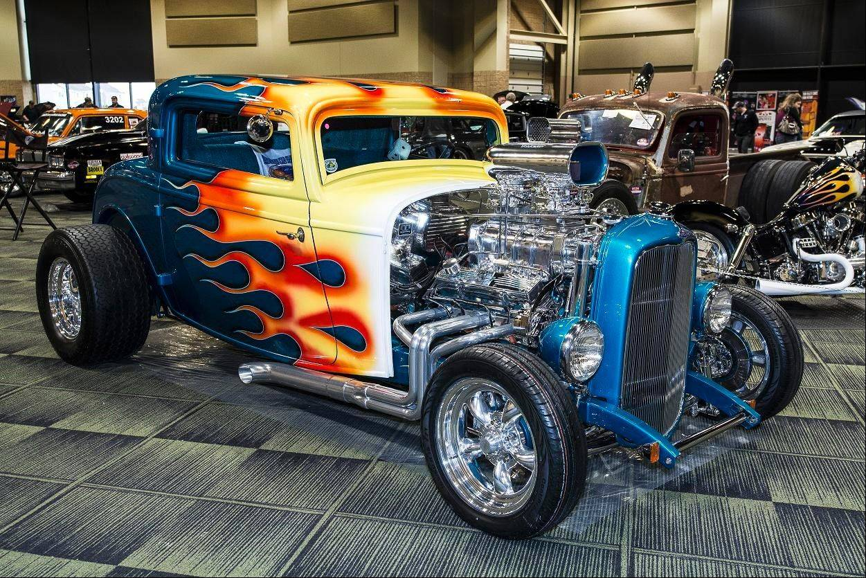 "The 1932 Ford coupe is ""the definition of a hot rod and one many appreciate,"" said Duane Pierson of Lockport."