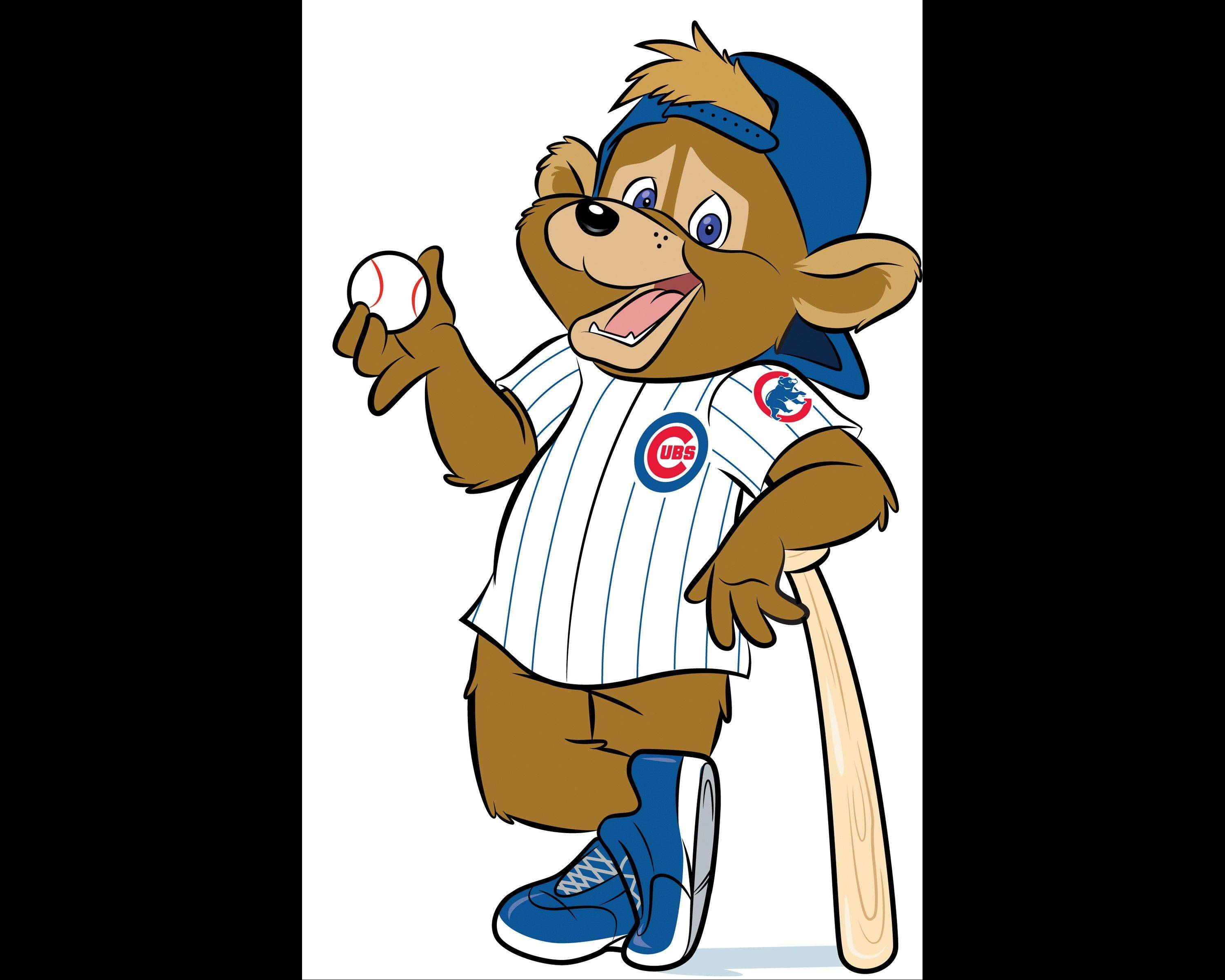 This artist's rendering provided Monday, Jan. 13, 2014, by the Chicago Cubs shows Clark, a new mascot being introduced Monday for the first time in team history. The team will officially introduce Clark during a visit with children at Advocate Illinois Masonic Medical Center's Pediatric Developmental Center in Chicago. The team plans on having Clark greet fans at Wrigley Field before and during games.