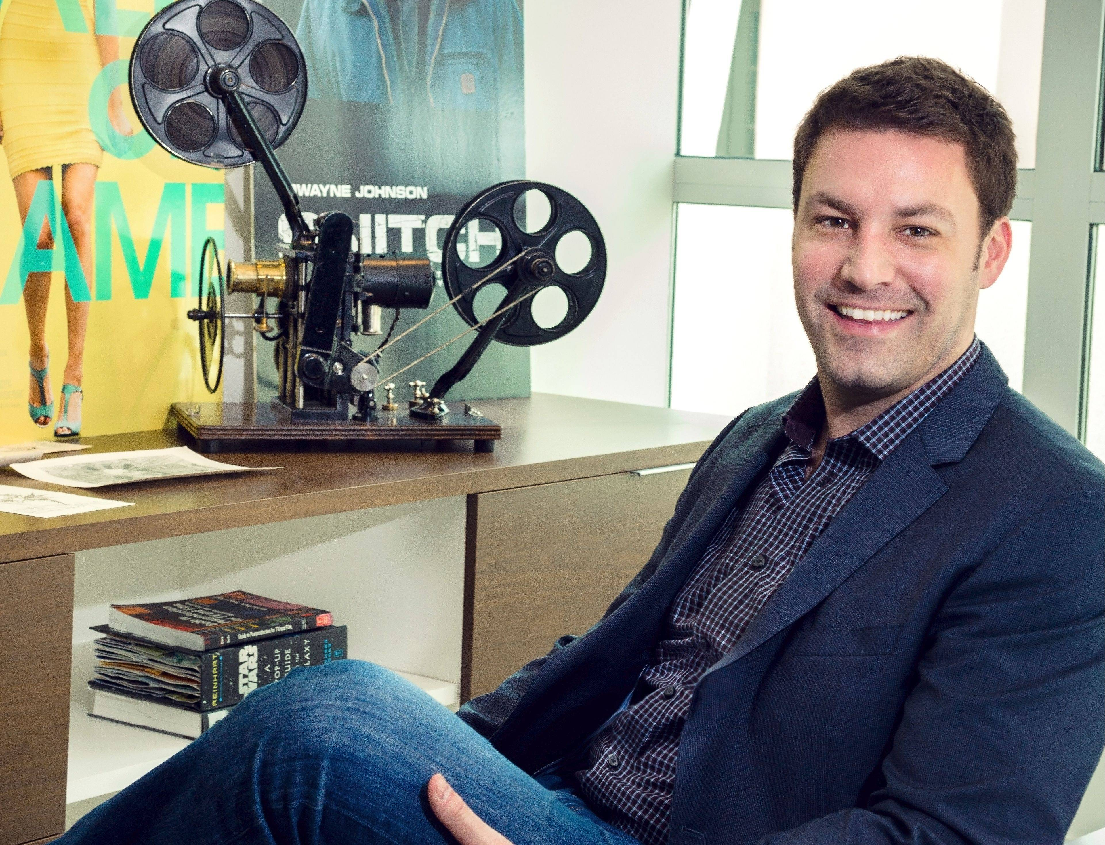 Bill Wohlken grew up in Hoffman Estates and is a vice president of post production at Focus Features in Los Angeles.