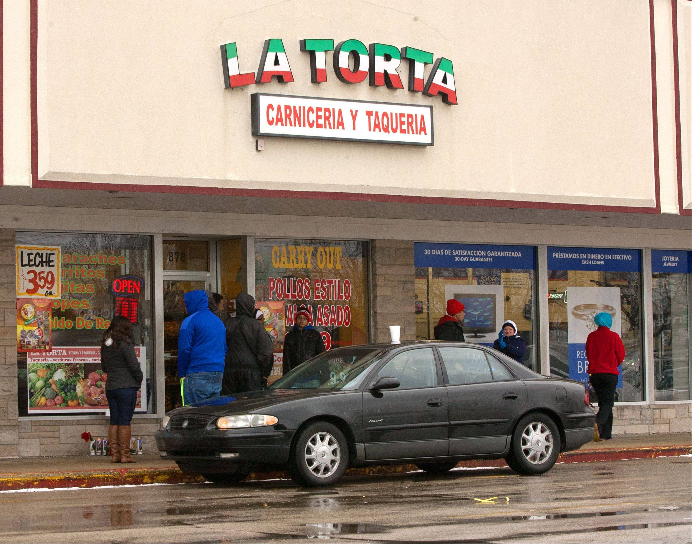 Aurora police continue to investigate the Monday evening shooting death of a man inside the La Torta restaurant on the 800 block of North Lake Street.
