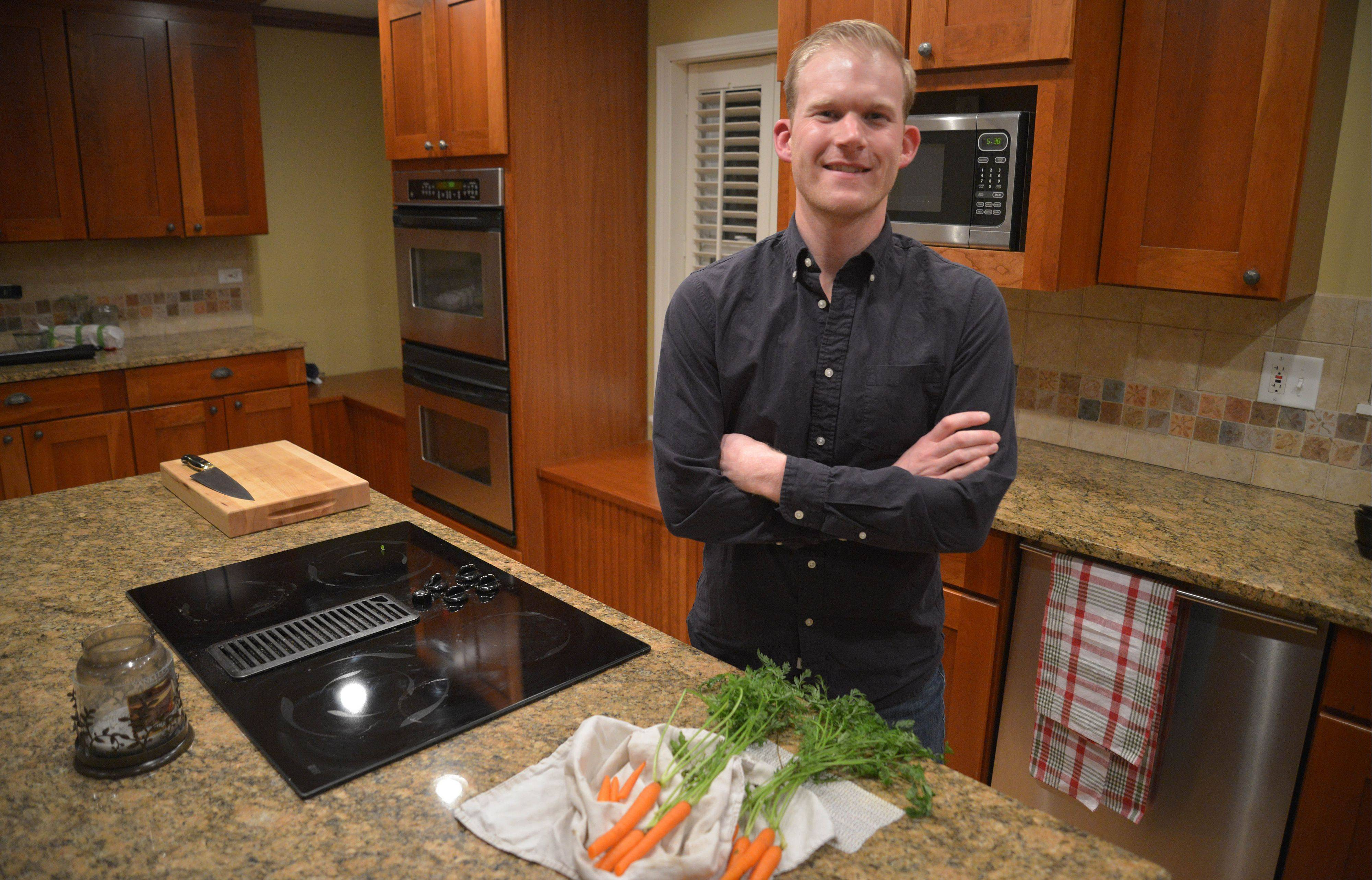 It's all about technique for Elliott Papineau. The Glen Ellyn dad lets technique and ingredients guide his meal planning.