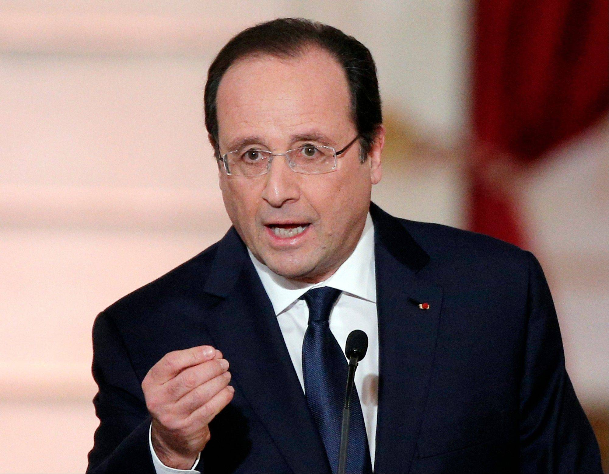 French President Francois Hollande's complex personal life -- and what it means to be the first lady in modern society -- received a full airing as he answered questions for the first time since a tabloid reported he was having an affair with an actress.