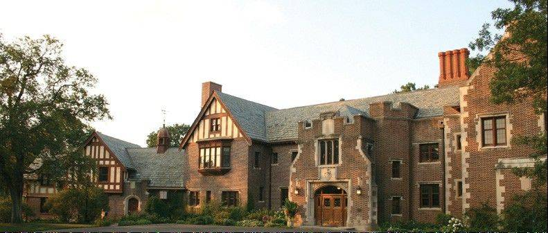 The DuPage County Forest Preserve District might seek $215,000 in state grant money to help restore part of the exterior of Mayslake Hall in Oak Brook. The district is using the historic mansion as an educational center.