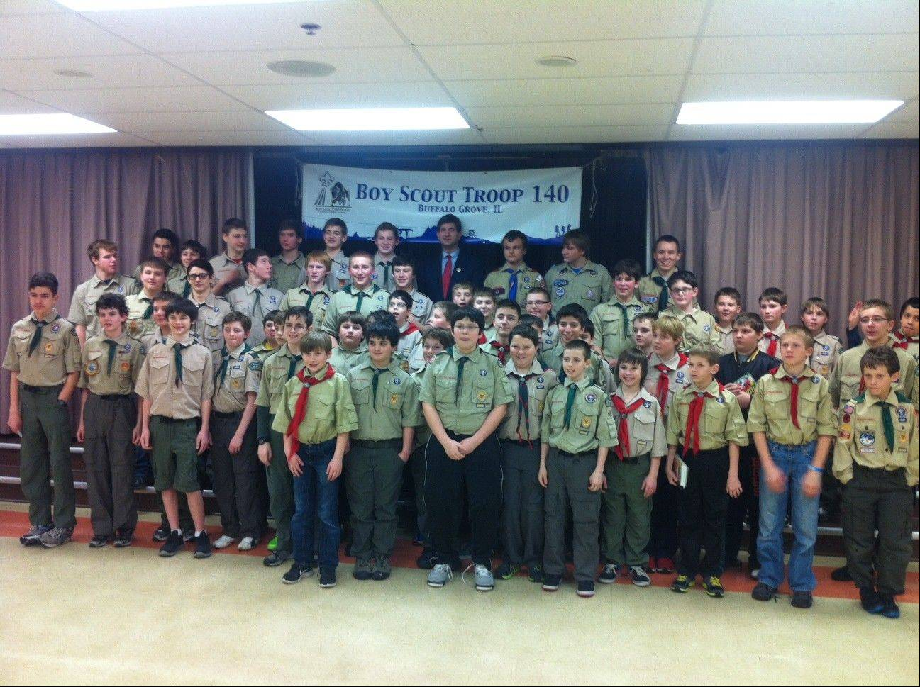 The Scouts of Boy Scout Troop 140 will celebrate the troop�s 50th anniversary this February.
