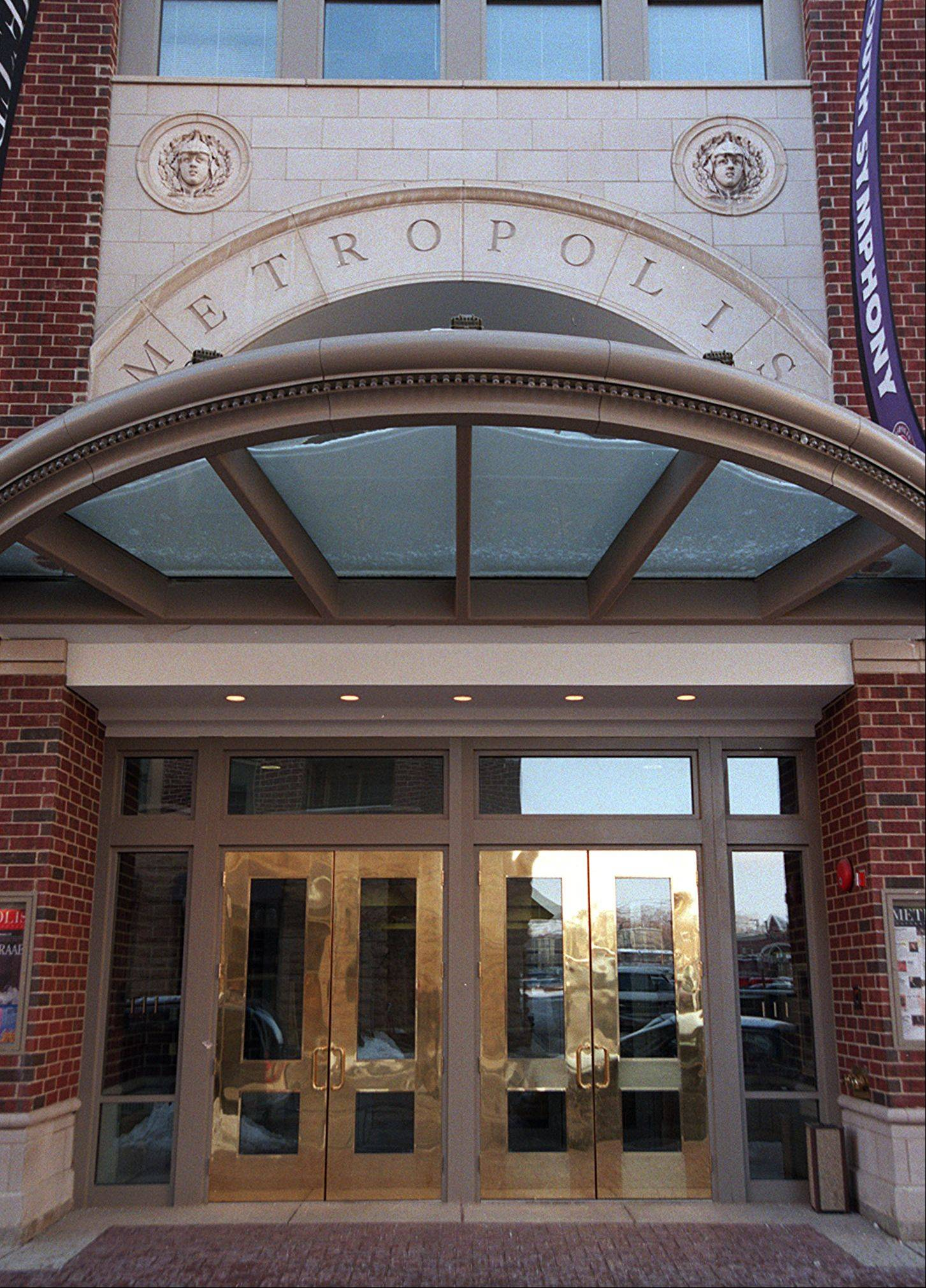 Metropolis Performing Arts Centre in Arlington Heights.