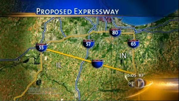 Six groups that include investors, engineering firms and contractors have shown interest in designing, building and financing the Indiana portion of the Illiana Expressway. The highway would connect Interstate 65 near Lowell with Interstate 55 south of Chicago.