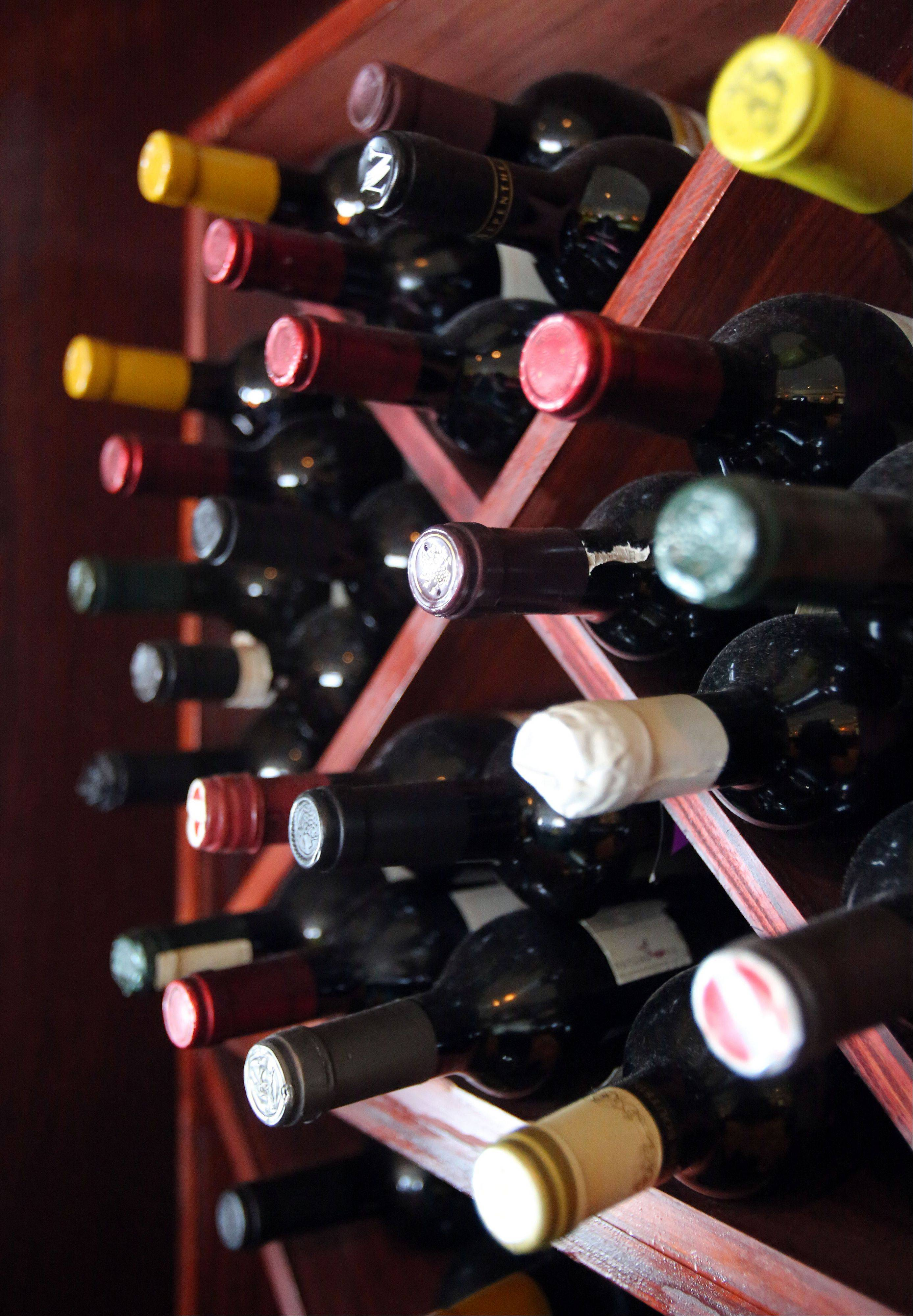 Johnny's Chophouse in Antioch offers many Greek wines.