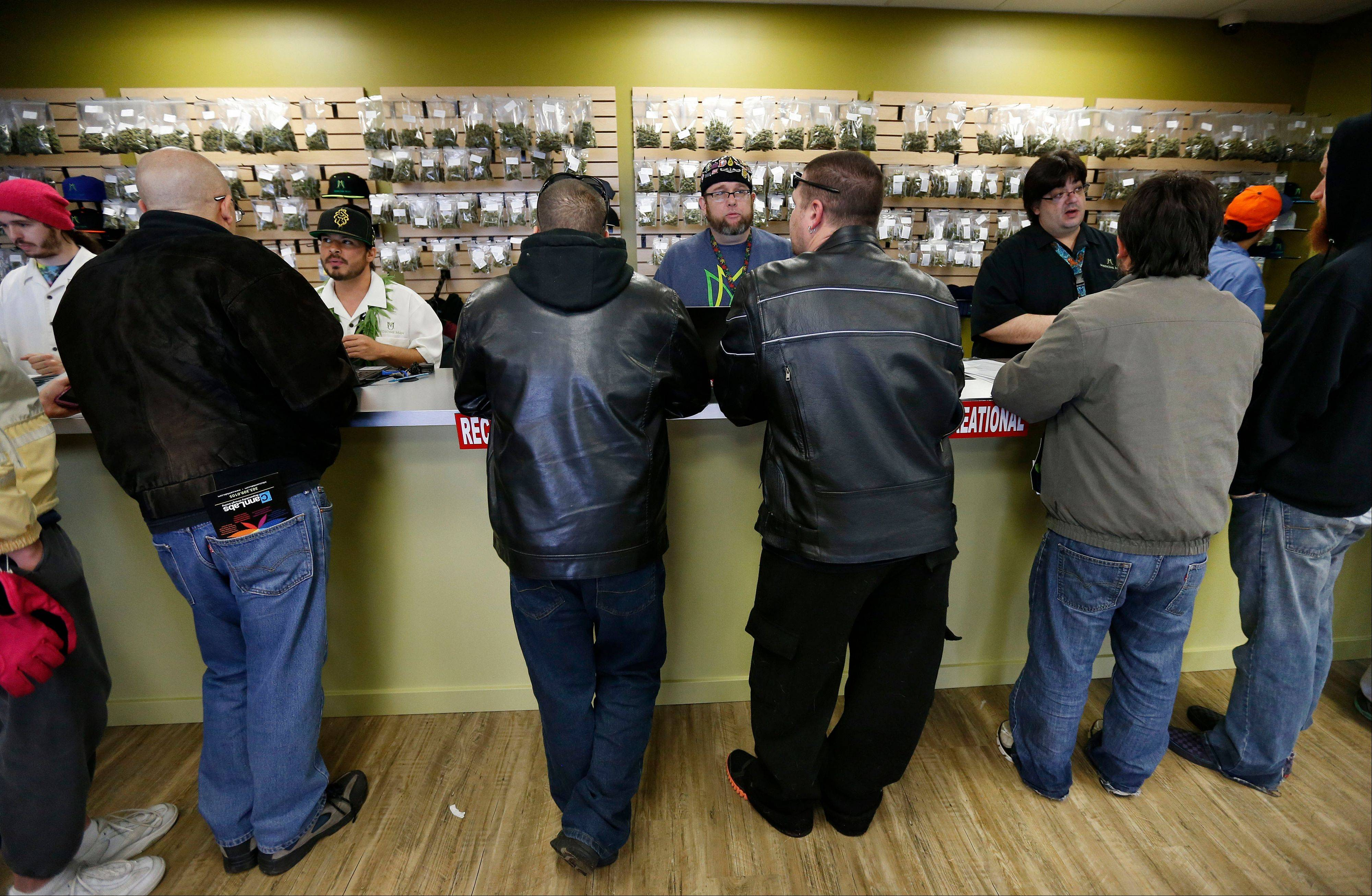 A group of marijuana activists want another pot vote in Colorado, to loosen restrictions on who can have it. A proposed ballot measure up for state review Wednesday Jan. 14, 2014 would end criminal penalties for cannabis possession.