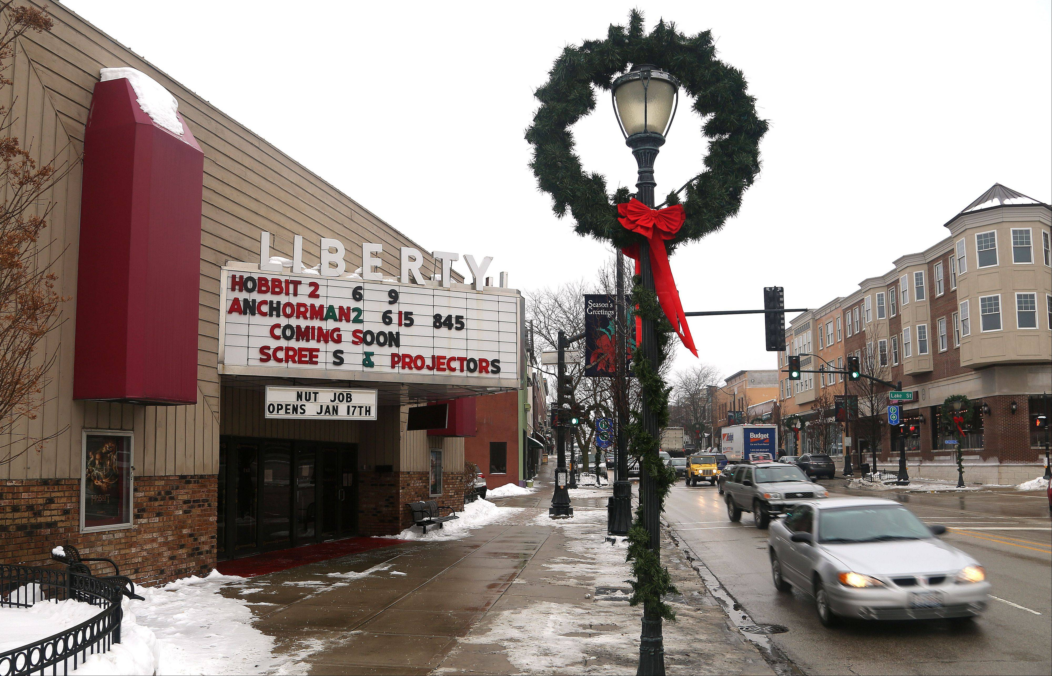 The Liberty 1 & 2 Theater in downtown Libertyville, which has been a mainstay since 1937, soon will embrace the digital age.