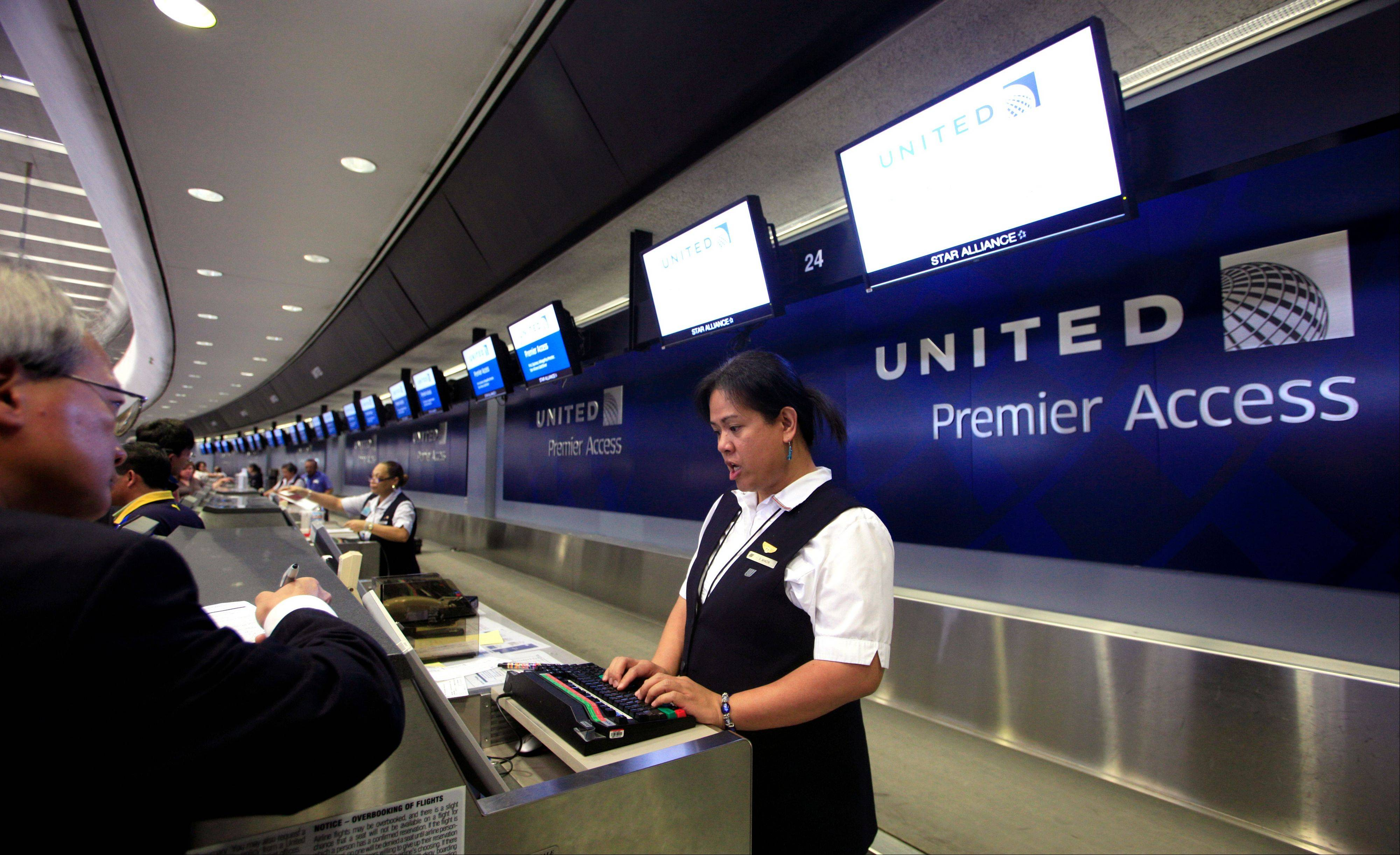 United Airlines said Thursday it will furlough 688 flight attendants after it didn't get enough people to take a voluntary buyout. United has said it wants to cut $2 billion in annual expenses.