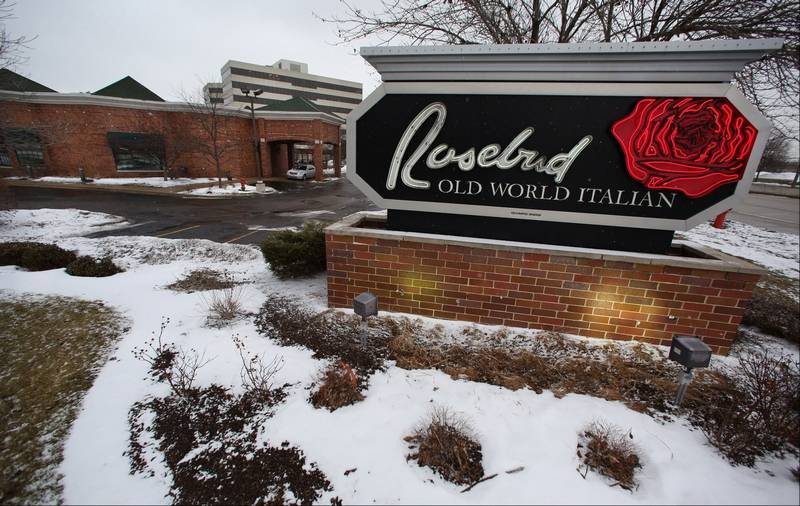 Italian Restaurant Names: Schaumburg's Rosebud Restaurant Gets A New Owner, Will