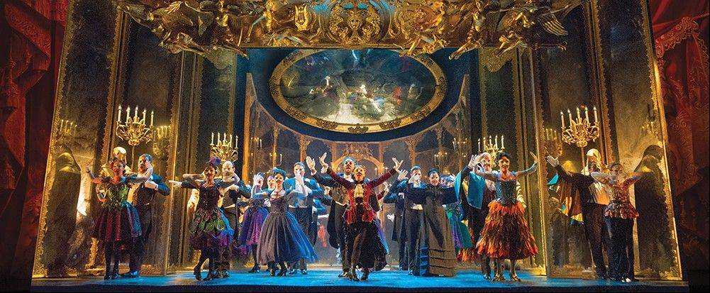 "Among the highlights in this new production of ""The Phantom of the Opera"" is the sumptuously sung ""Masquerade,"" directed by Laurence Connor with music direction by Richard Carsey."