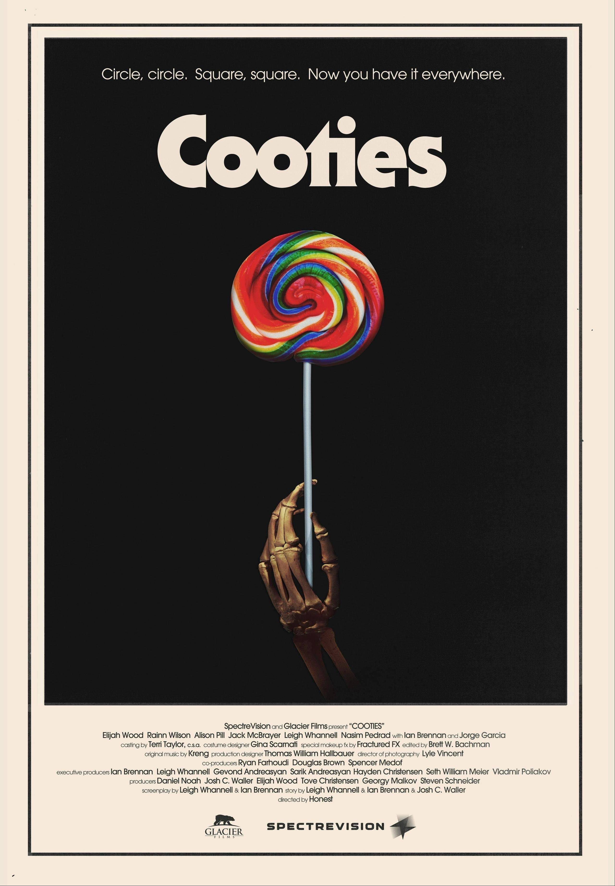 "The movie poster for ""Cooties,"" a horror-comedy cowritten by Mount Prospect native Ian Brennan."