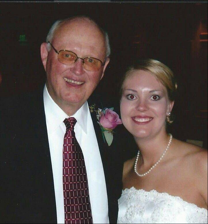 Longtime coach Ted Wissen with his daughter, Jo Ann Jennings.