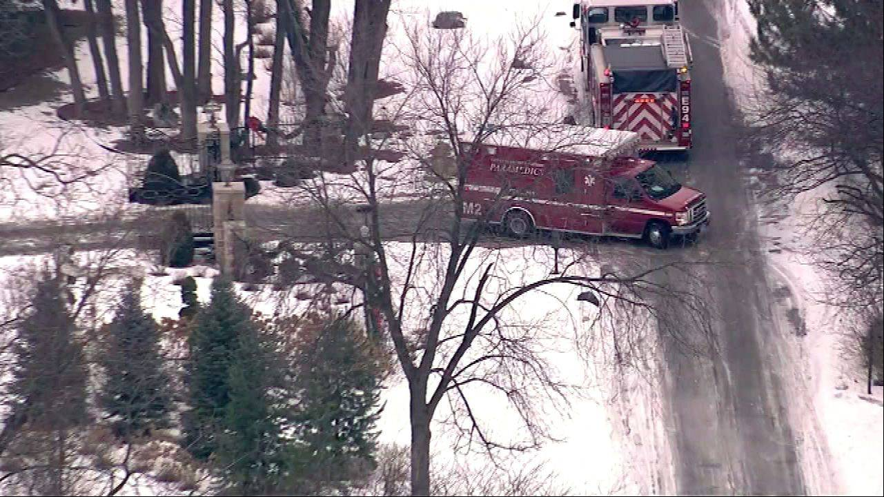 Firefighters from Oak Brook and surrounding towns responded to the site of a carbon monoxide leak in a home in the 2900 block of Oak Brook Hills Road in Oak Brook.