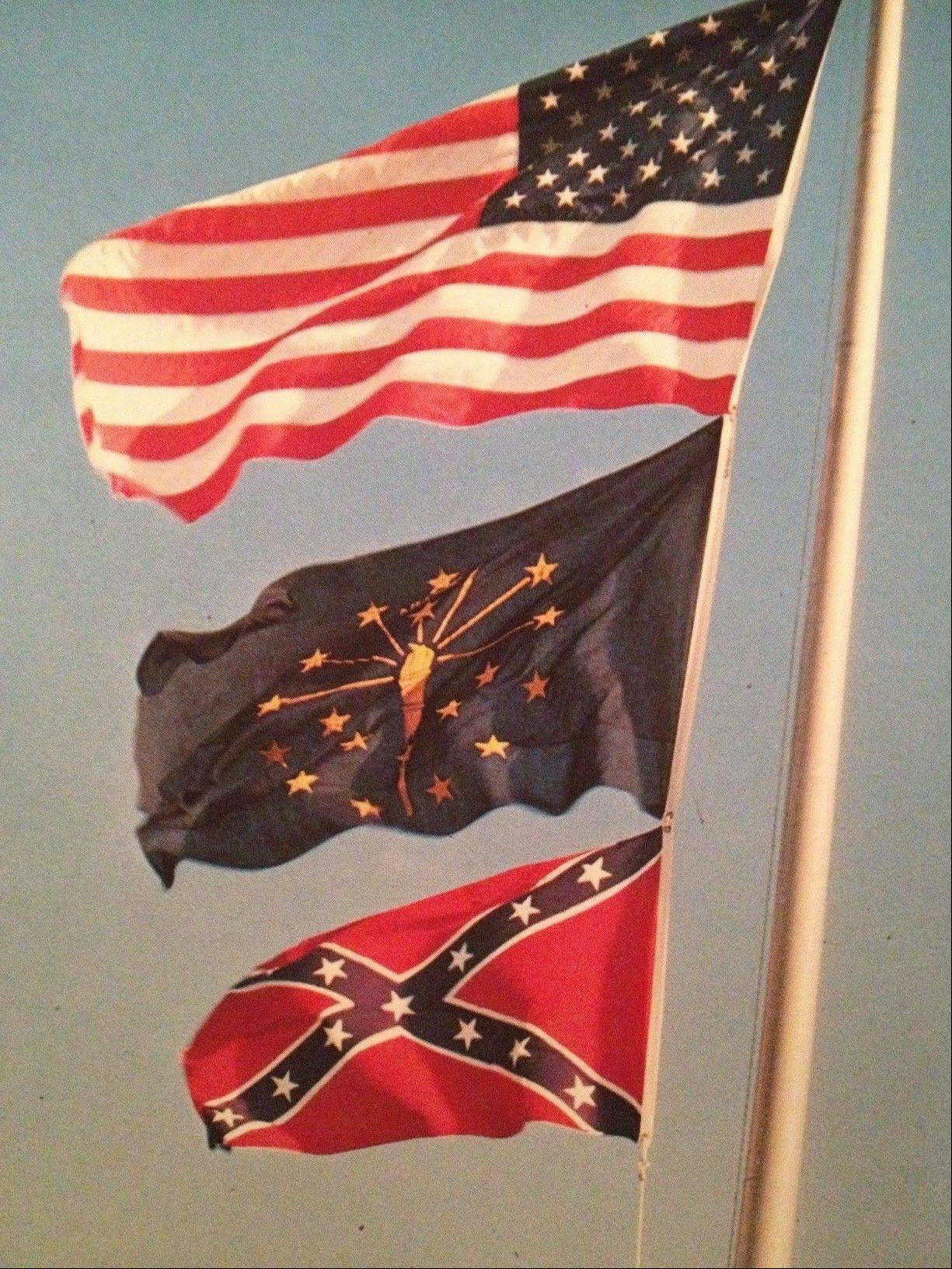 As a high school student in the 1970s, I was bothered that my school's Stars and Bars joined the flags of my state and country on my high school's flagpole. That confederate flag did go perfectly with our Rebel mascot, but it always reminded me that our Rebels nickname came from the losing side.