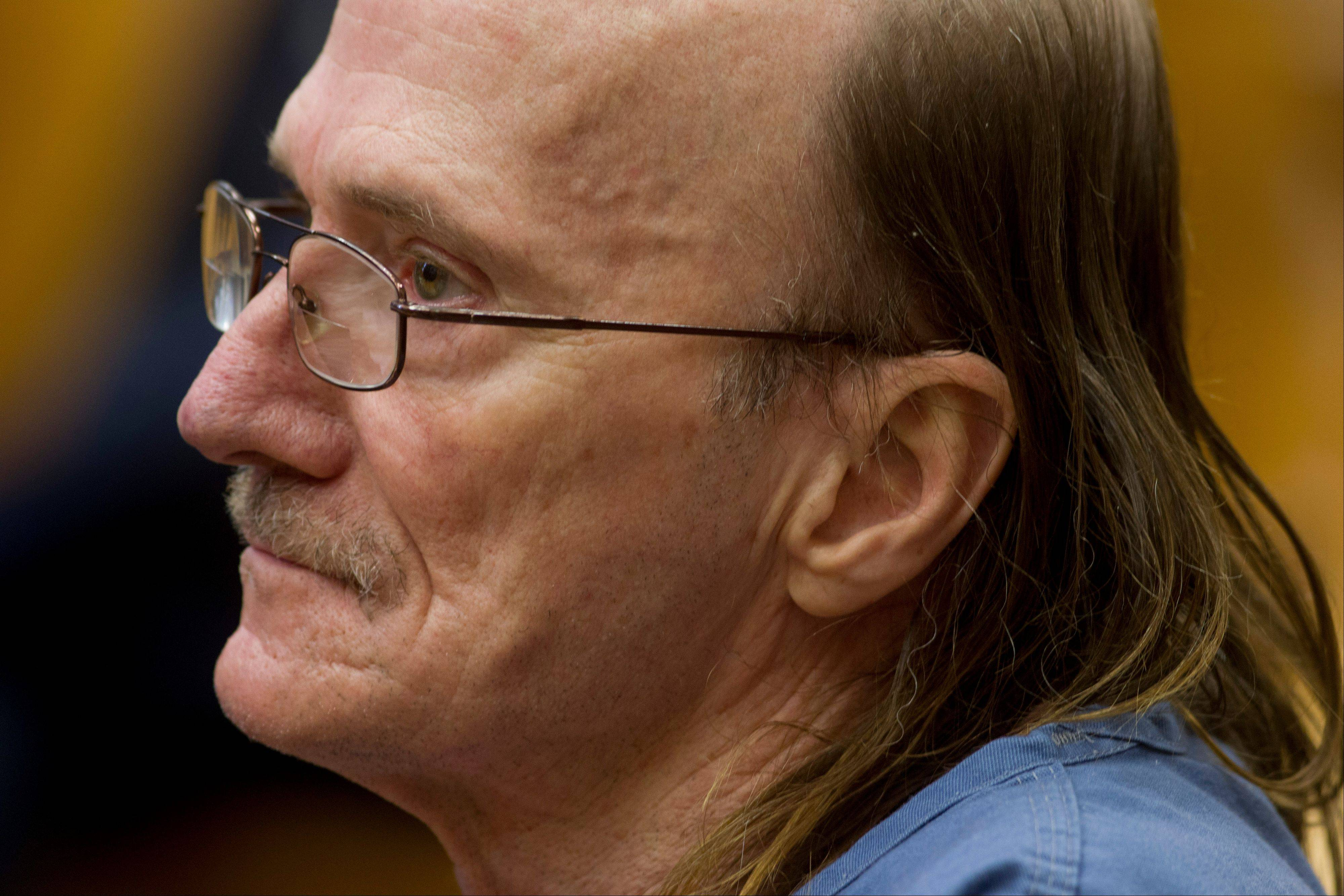 Associated Press/Oct. 9, 2013 Convicted killer Jeffrey Cutlip sits in court where he entered guilty pleas to three old Oregon homicides in Portland, Ore.