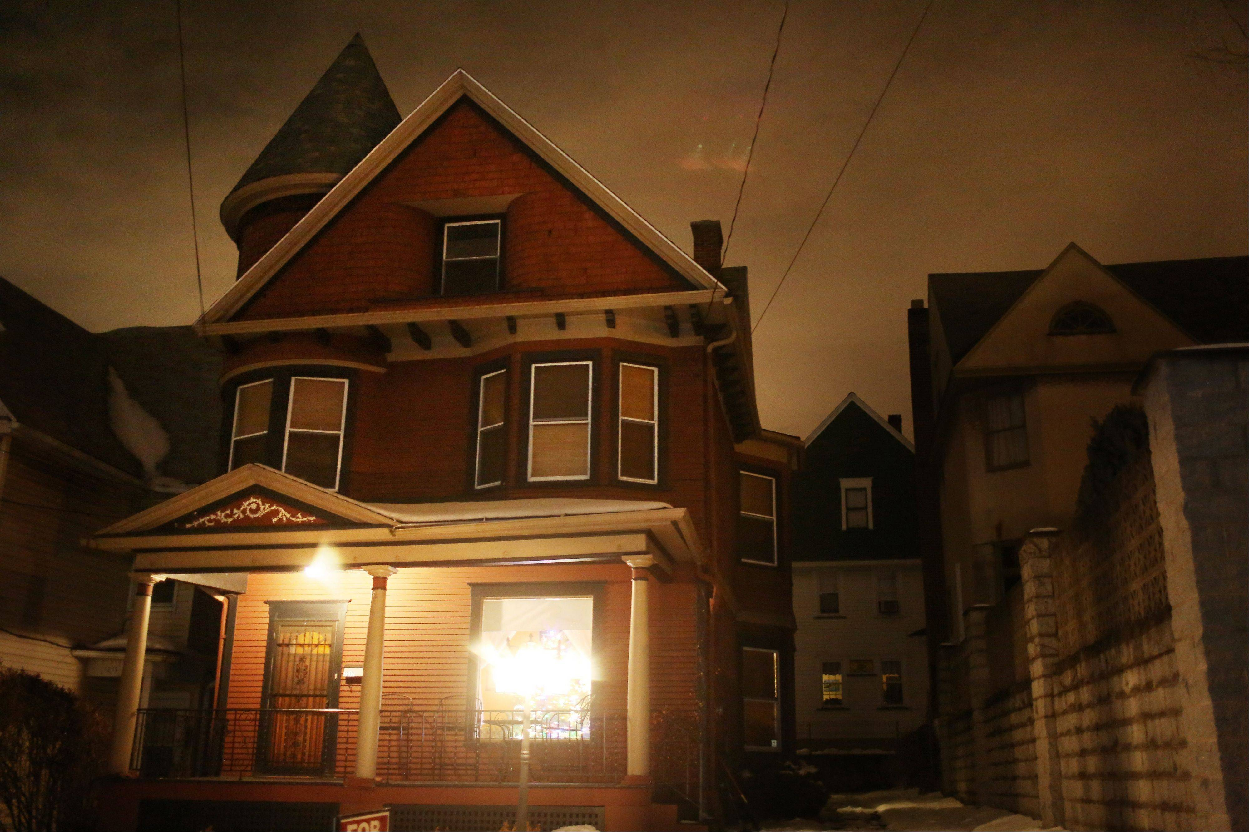The 1901 Victorian home at 1217 Marion St. in Dunmore, Pa.