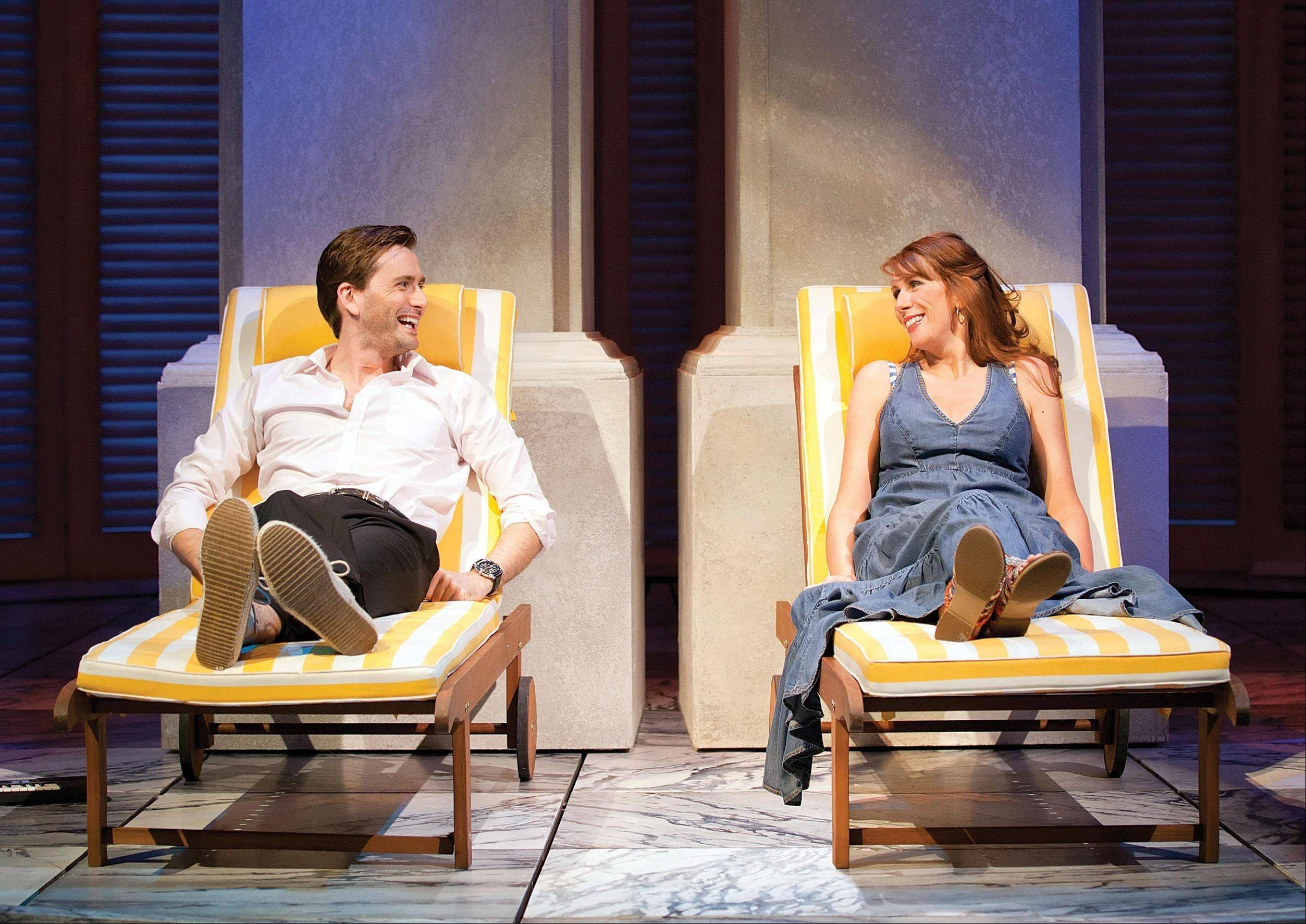 """Doctor Who"" stars David Tennant and Catherine Tate starred as Benedick and Beatrice in a 2011 London stage version of Shakespeare's ""Much Ado About Nothing."" The hit West End production is available to download from $START_URL$digitaltheatre.com;http://digitaltheatre.com$STOP_URL$."