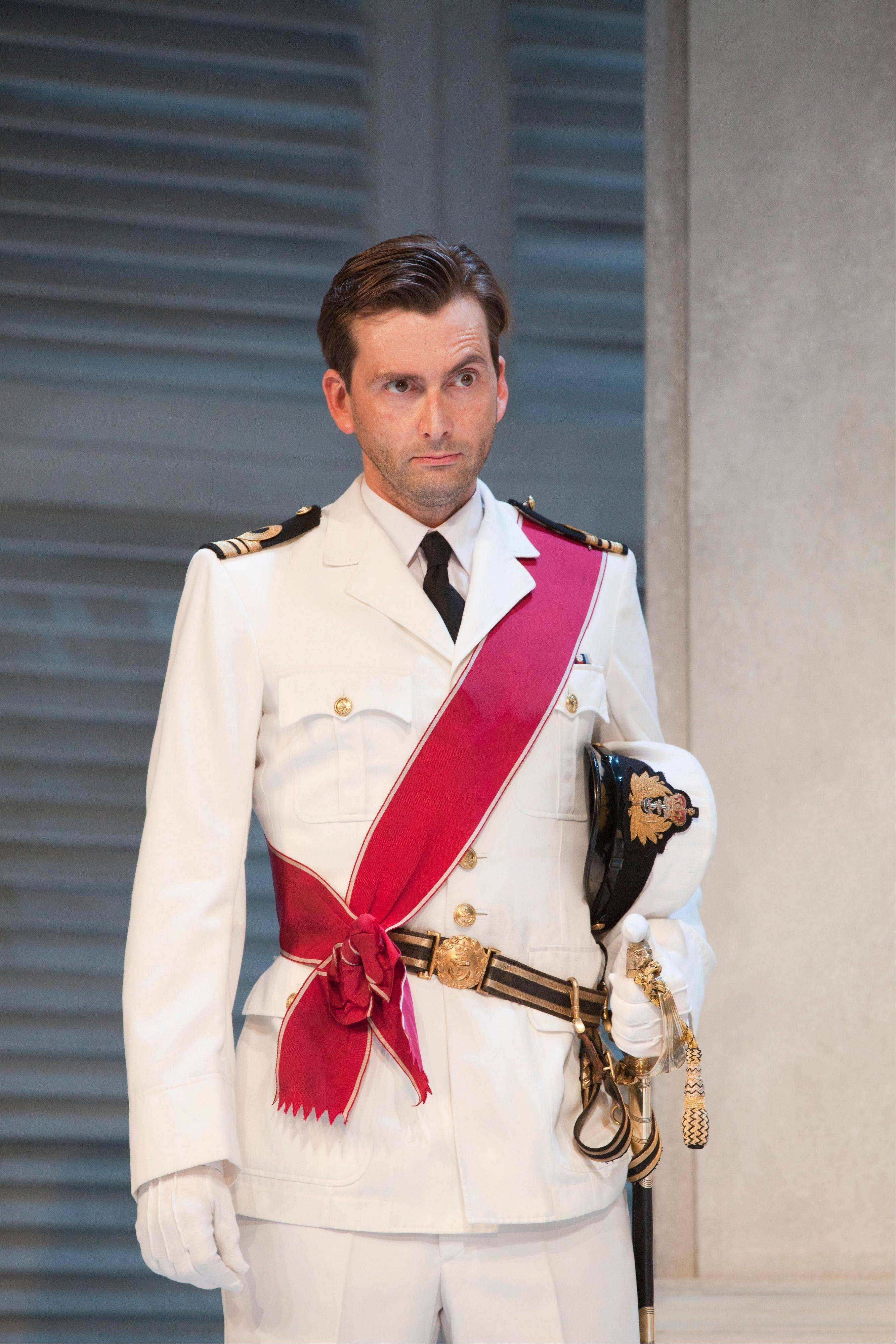 """Doctor Who"" star David Tennant starred as Benedick in a 2011 London stage version of Shakespeare's romantic comedy ""Much Ado About Nothing."" The hit West End production is available to download from digitaltheatre.com."