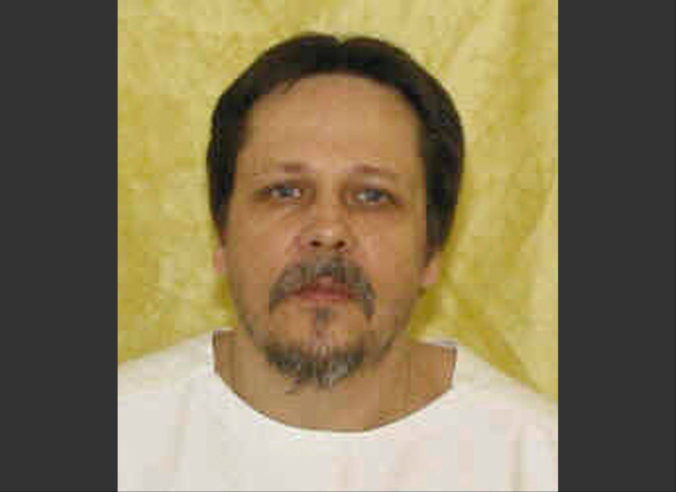This undated file photo provided by the Ohio Department of Rehabilitation and Correction shows inmate Dennis McGuire who was executed Thursday by means of a two-drug lethal injection process never before tried in the U.S.