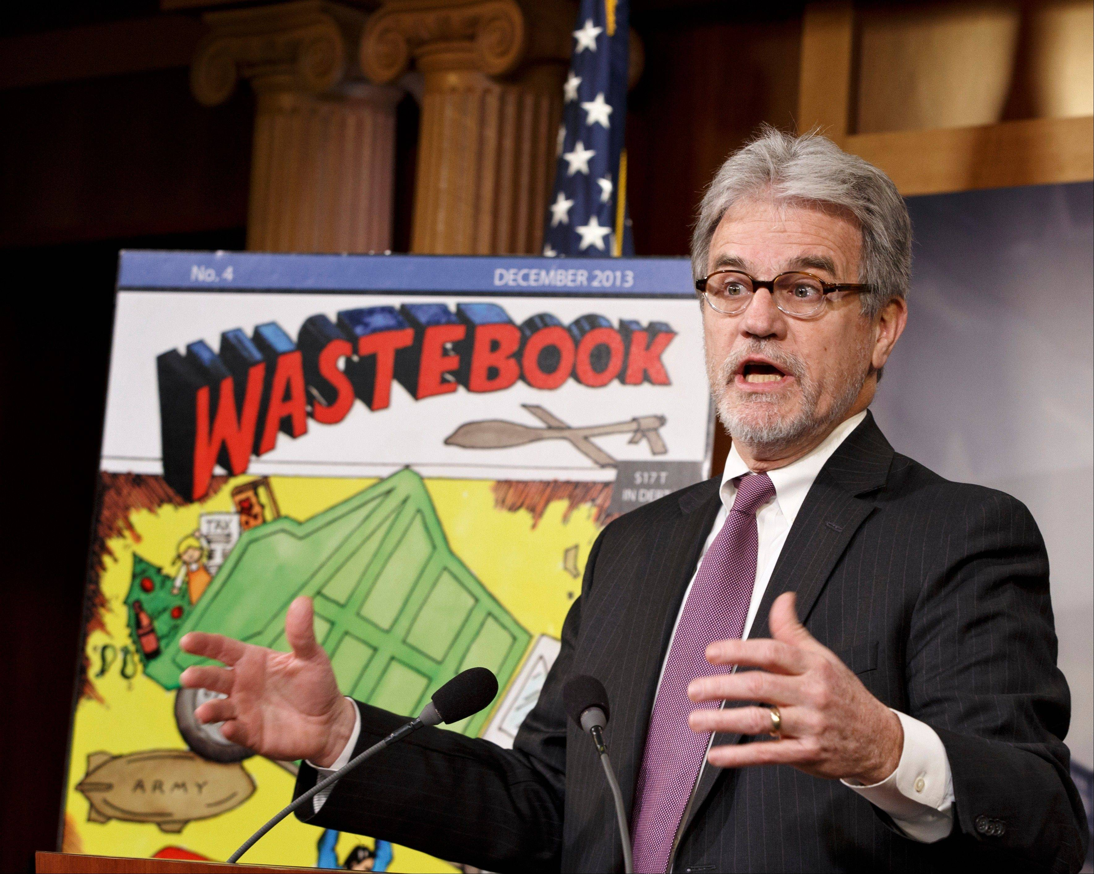 Sen. Tom Coburn, R-Okla., says he plans to finish the current year in office and resign his seat nearly two years before his term is scheduled to end.