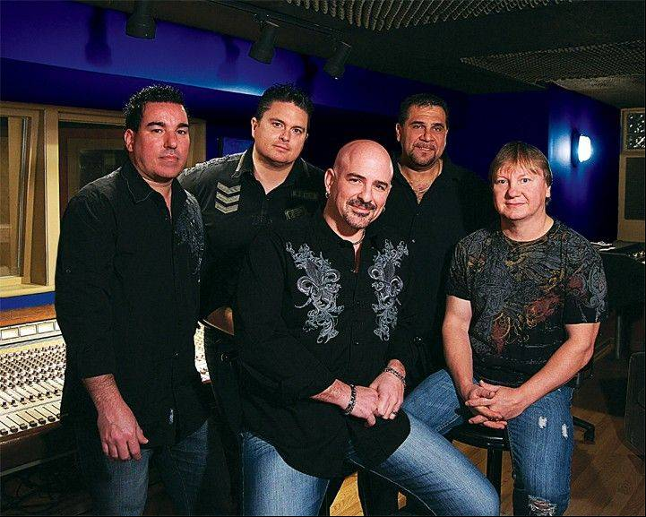 The band Hi Infidelity will perform in the Kane County Cougars ballpark concert series. The band specializes in '80s rock. From left are Guy Dominick, Tyler Holcomb, Dave Mikulskis, Bobby Scumaci and Jim Warren.