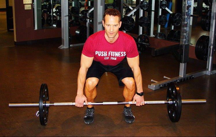 There aren�t many exercises that elicit as much muscle recruitment as the dead lift.