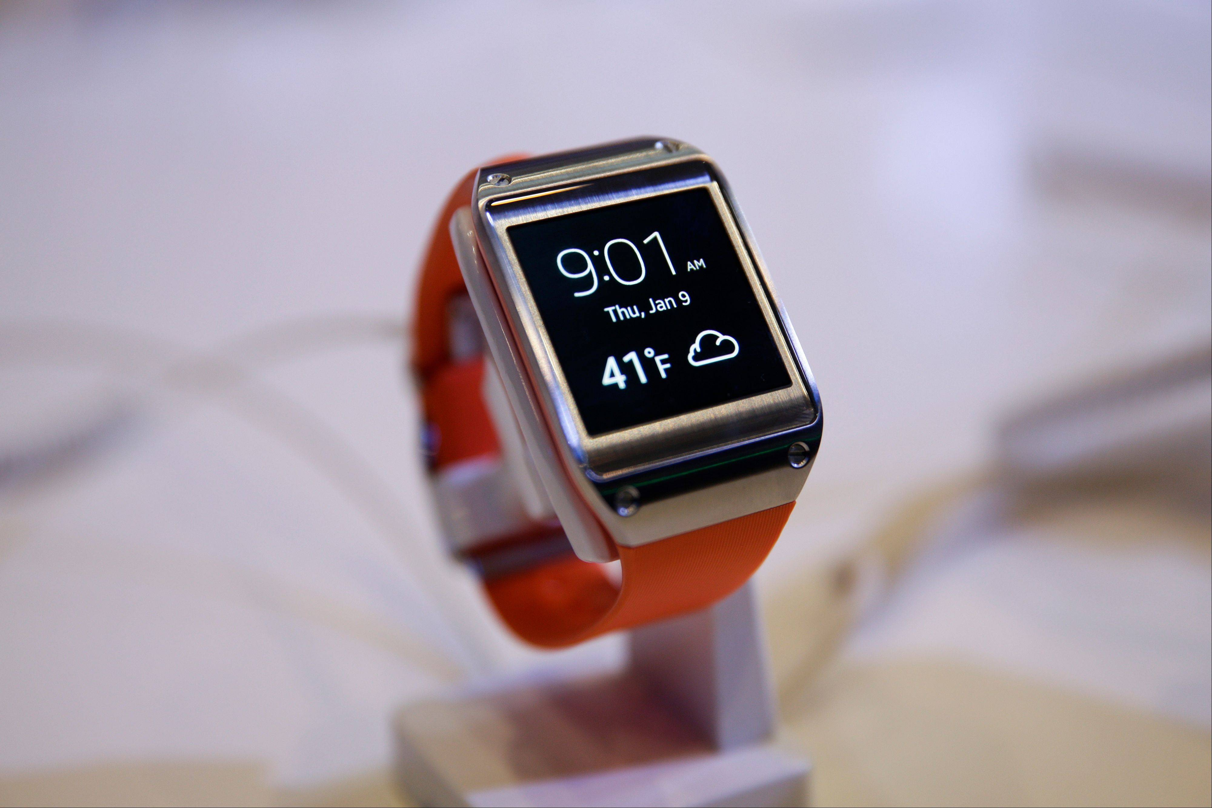 A Samsung Galaxy Gear smartwatch is displayed at the International Consumer Electronics Show. As technology gets more sophisticated, some owners are left in a state of confusion.