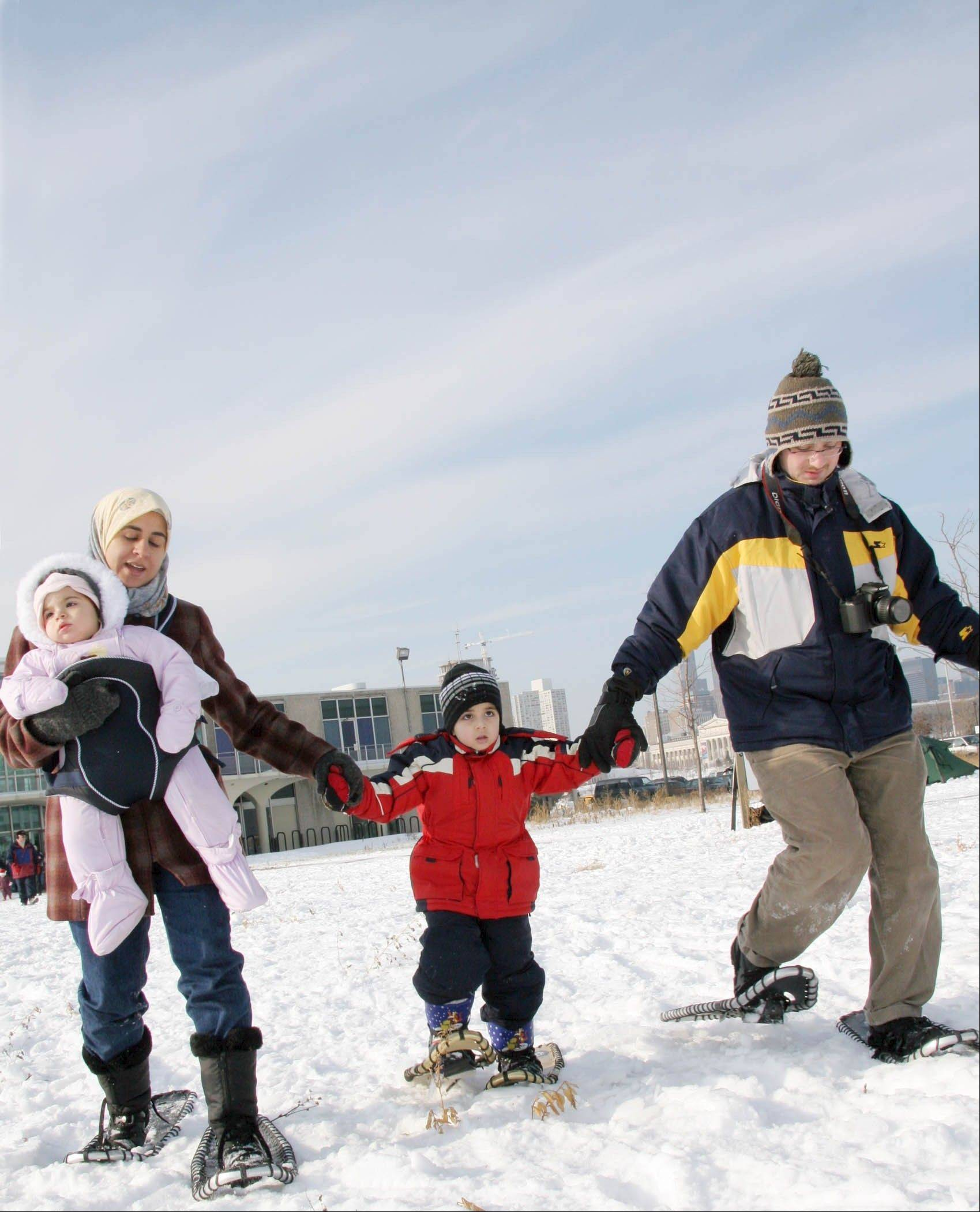 Polar Adventure Days at Northerly Island features outdoor winter fun for the whole family, Jan. 25 and Feb. 22.