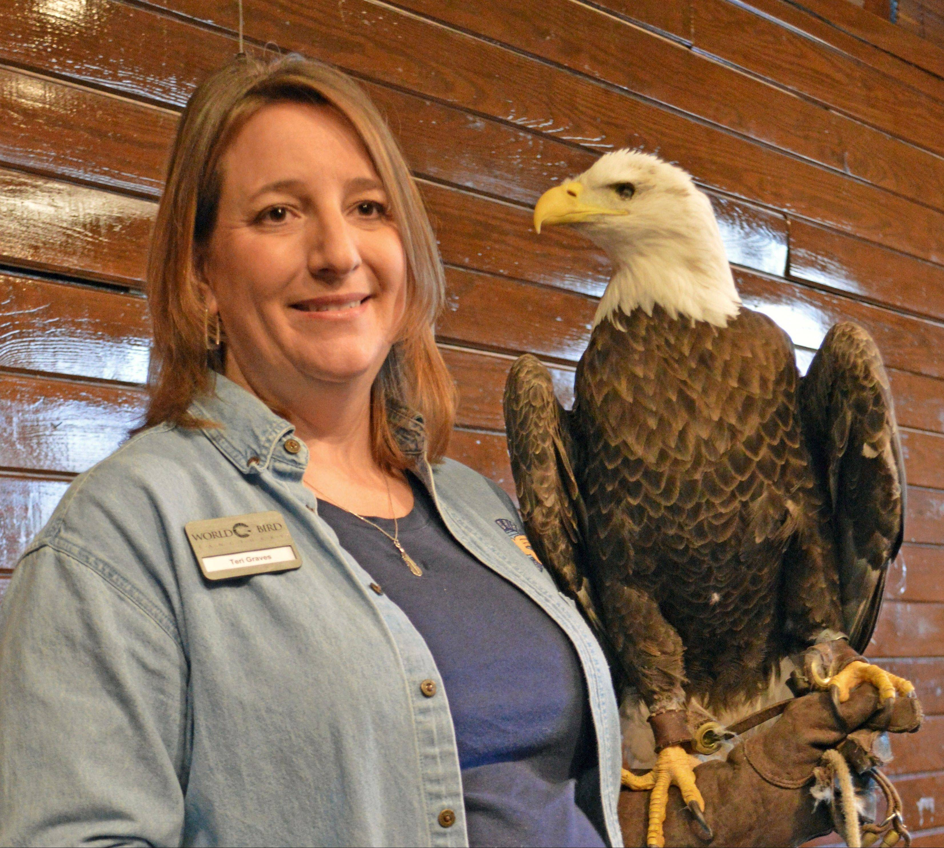 It's Eagle Watch Weekend Jan. 25-26 at Starved Rock State Park near Utica.