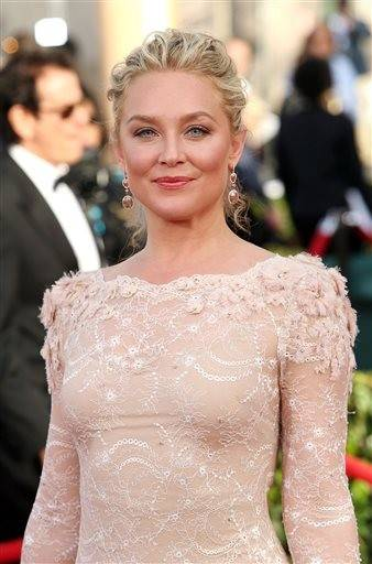 Elisabeth Rohm walks the red carpet at the SAG Awards.