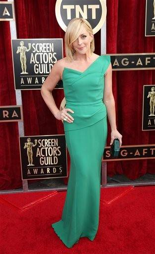 """30 Rock"" star Jane Krakowski keeps it simple for the SAG Awards."