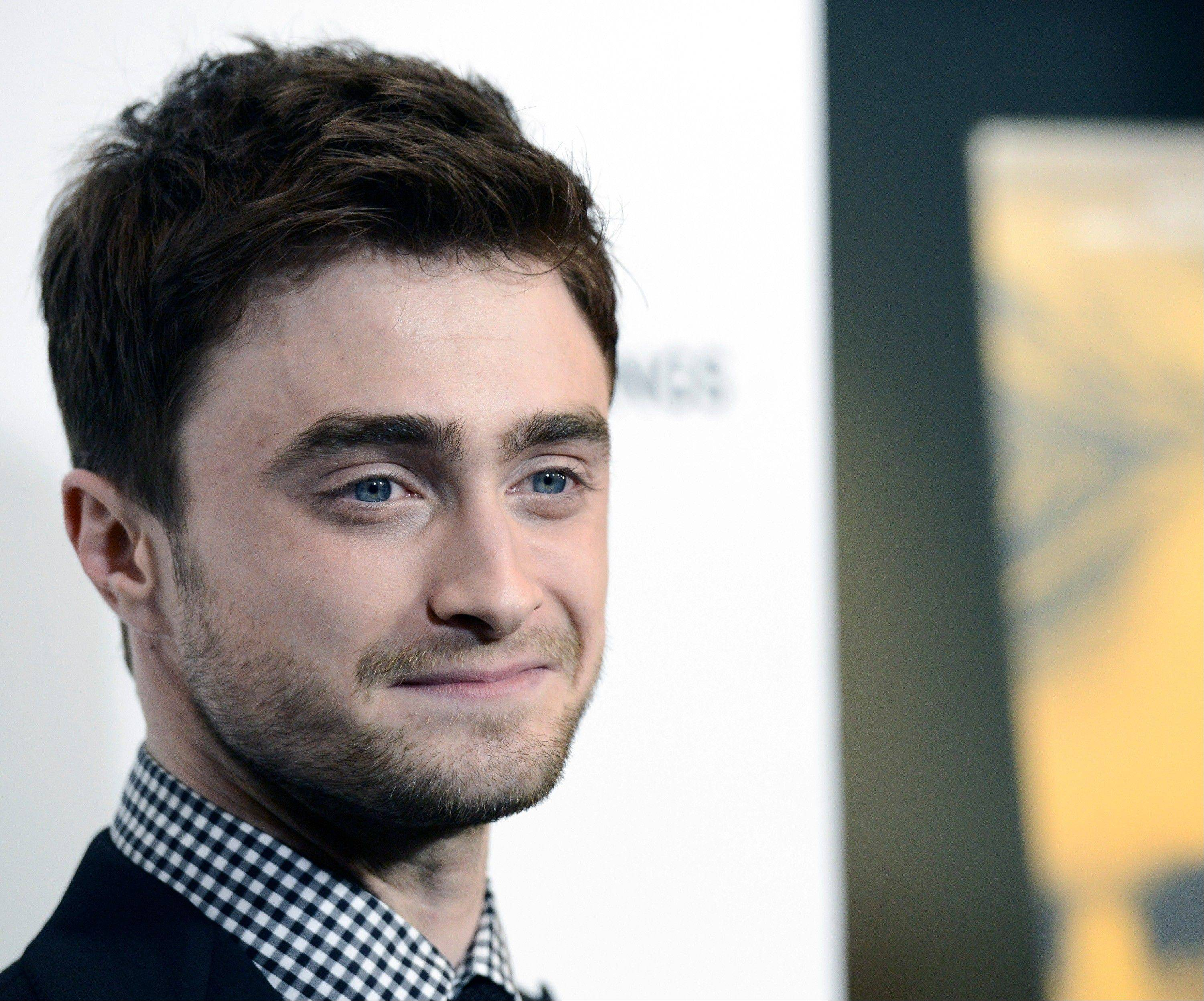 "Actor Daniel Radcliffe is returning to Broadway as a disabled Irish dreamer. Producers said Thursday that the ""Harry Potter"" star will star in Martin McDonagh's ""The Cripple of Inishmaan,"" directed by Tony Award-winner Michael Grandage."