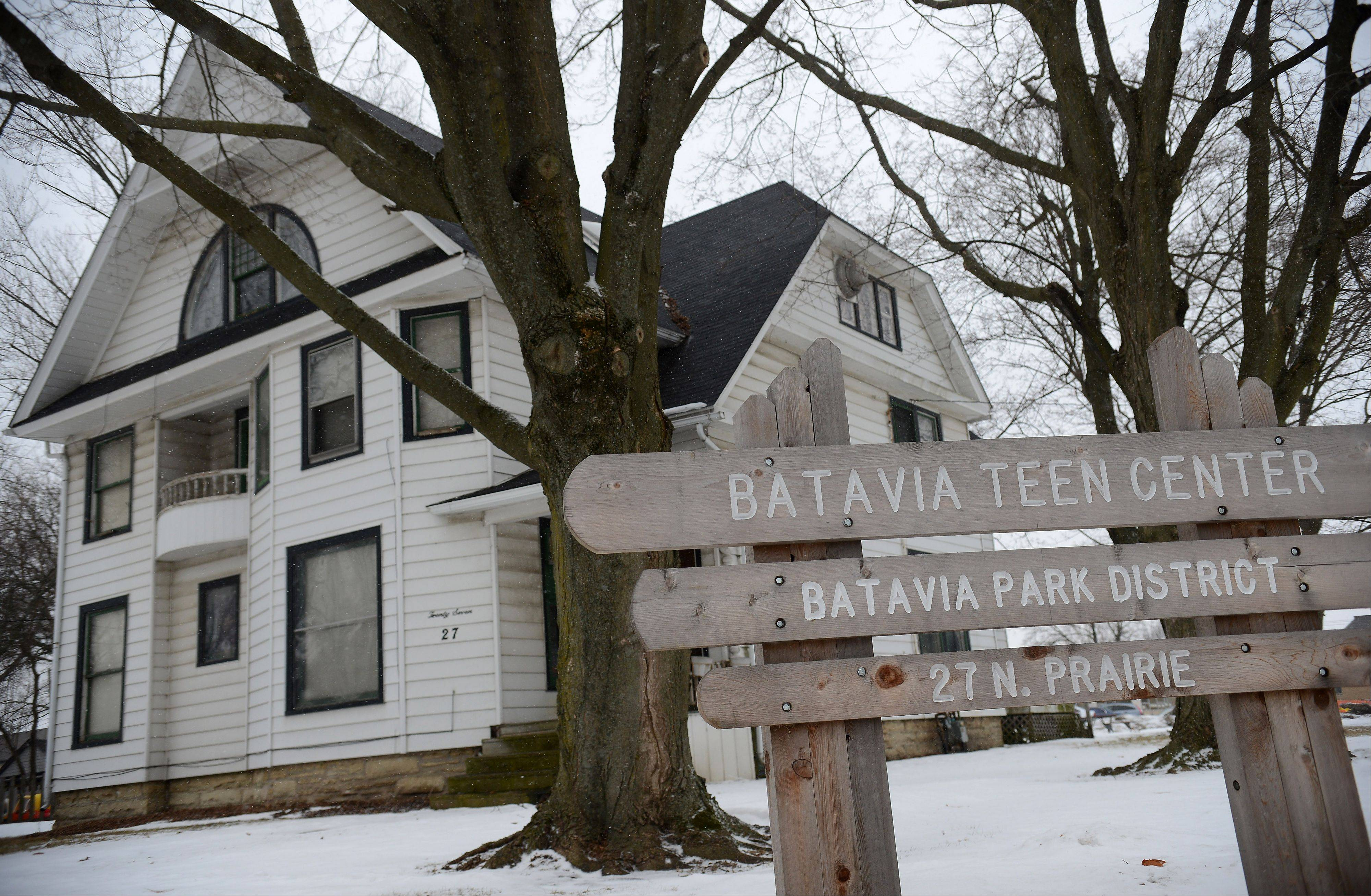 The Batavia Park District is seeking input from teens about what to offer at its Teen Center at 27 N. Prairie St.